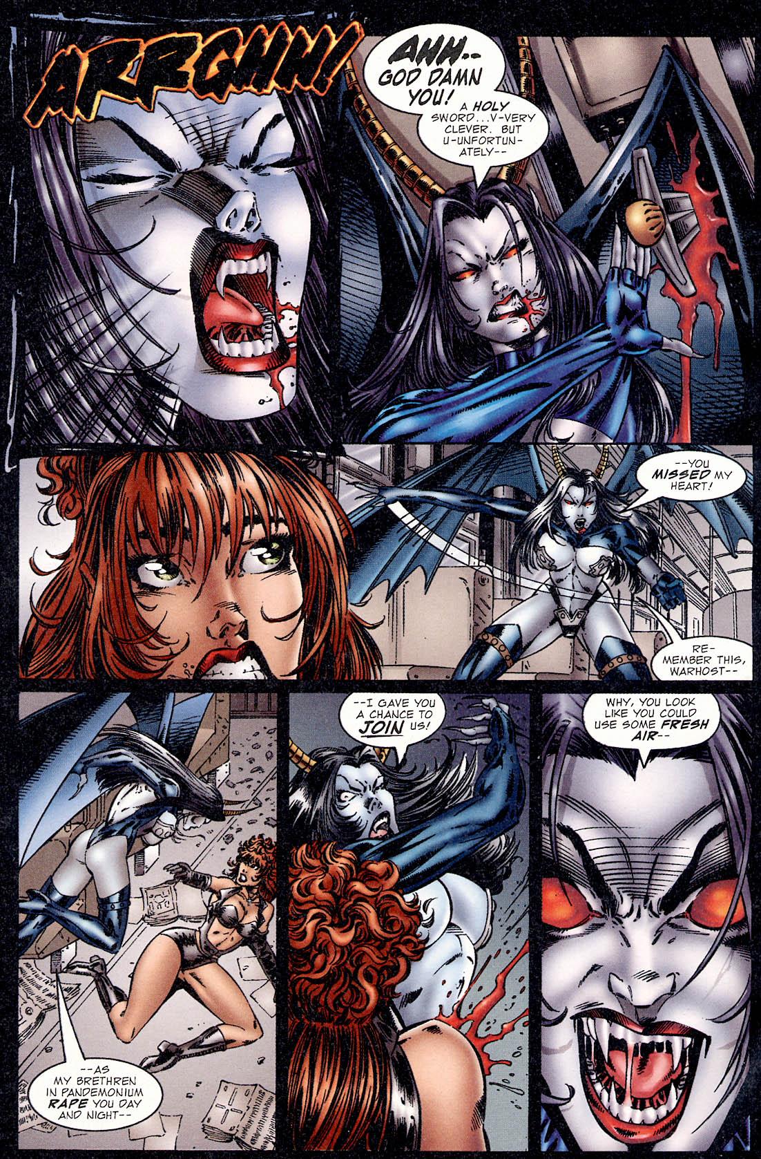 Read online Avengelyne (1995) comic -  Issue #2 - 25