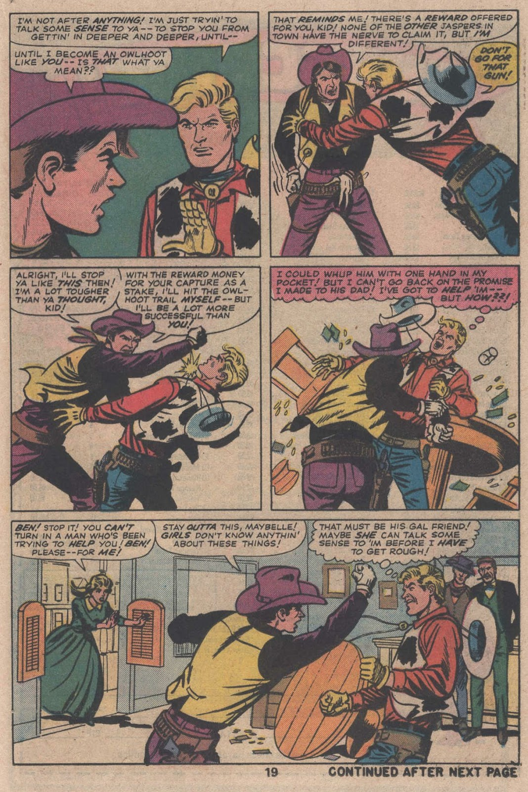 Kid Colt Outlaw issue 195 - Page 21
