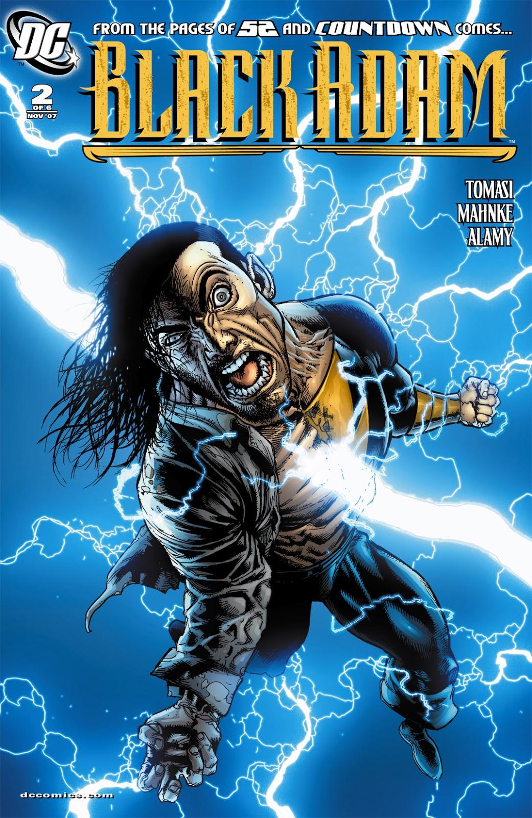 Black Adam: The Dark Age issue 2 - Page 1