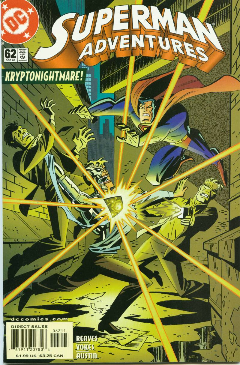 Superman Adventures issue 62 - Page 1