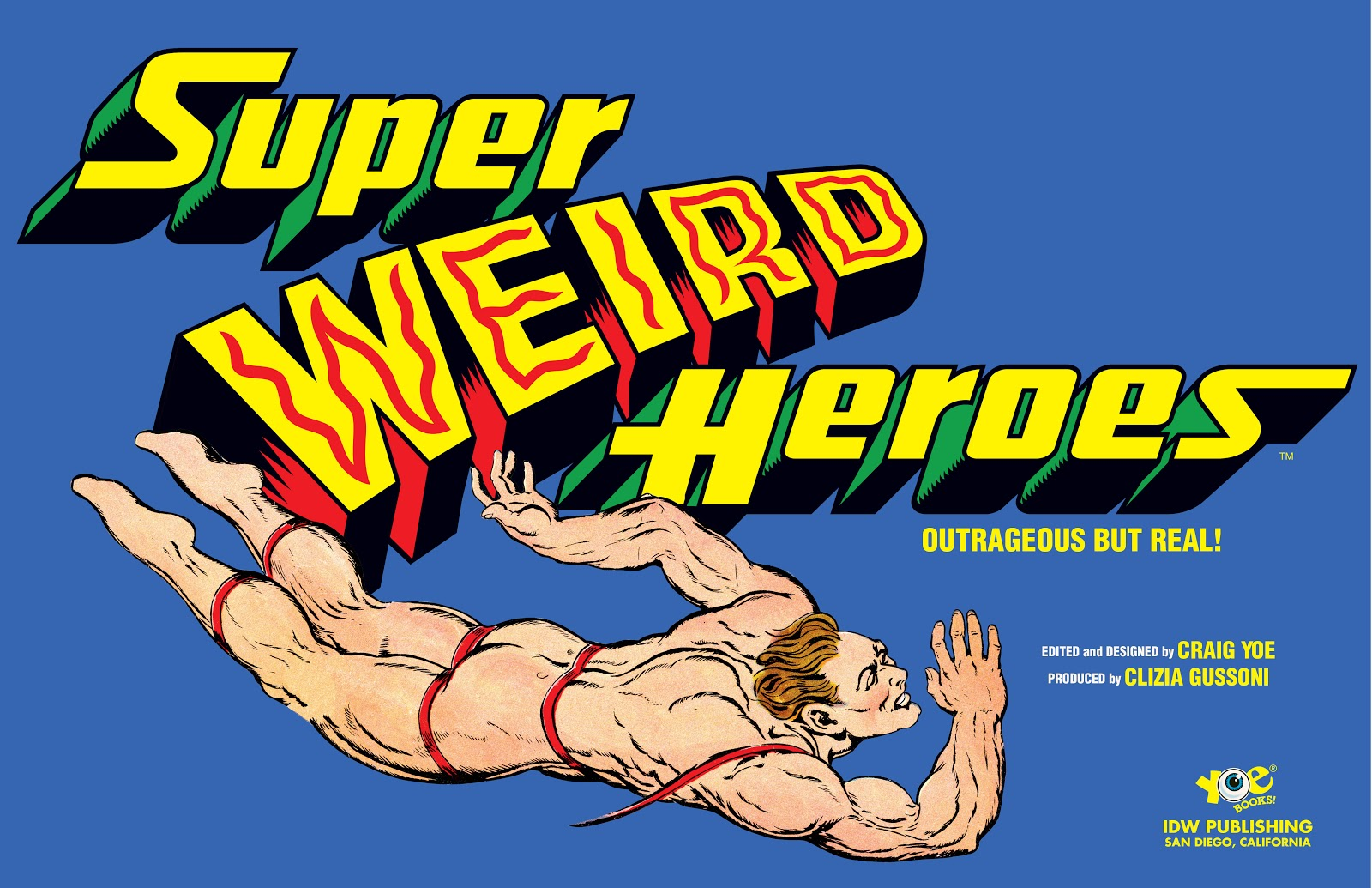 Read online Super Weird Heroes comic -  Issue # TPB 1 (Part 1) - 4