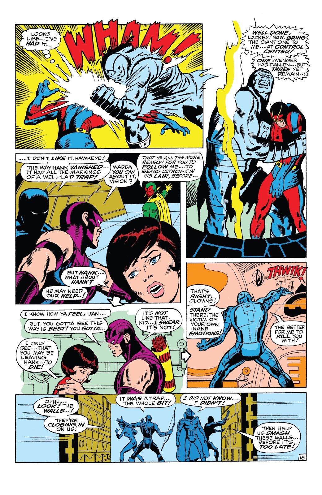 Read online Marvel Tales: Avengers comic -  Issue # Full - 42