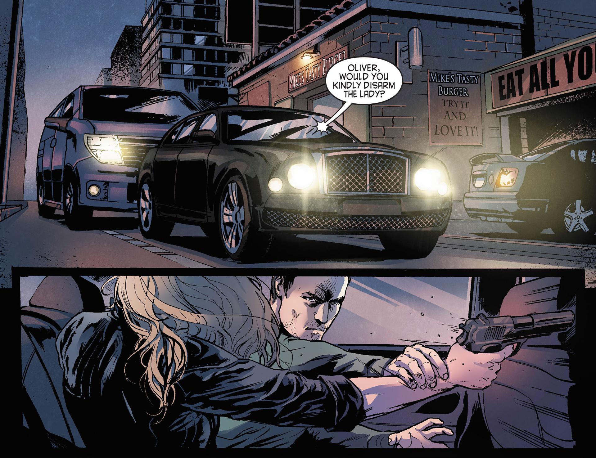 Read online Arrow [II] comic -  Issue #21 - 11