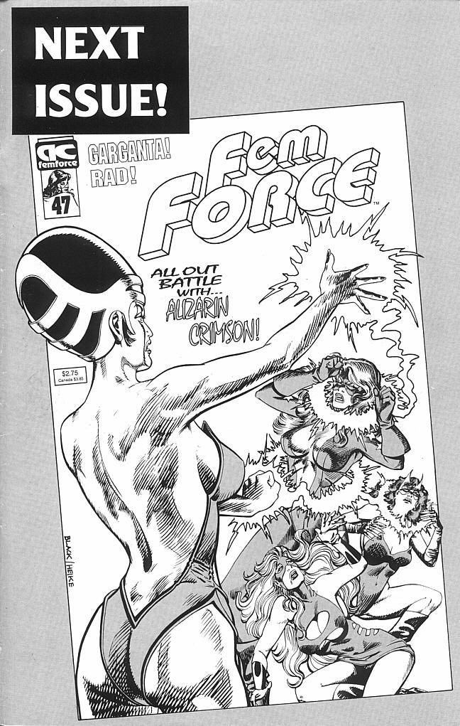 Femforce Issue #46 #46 - English 44