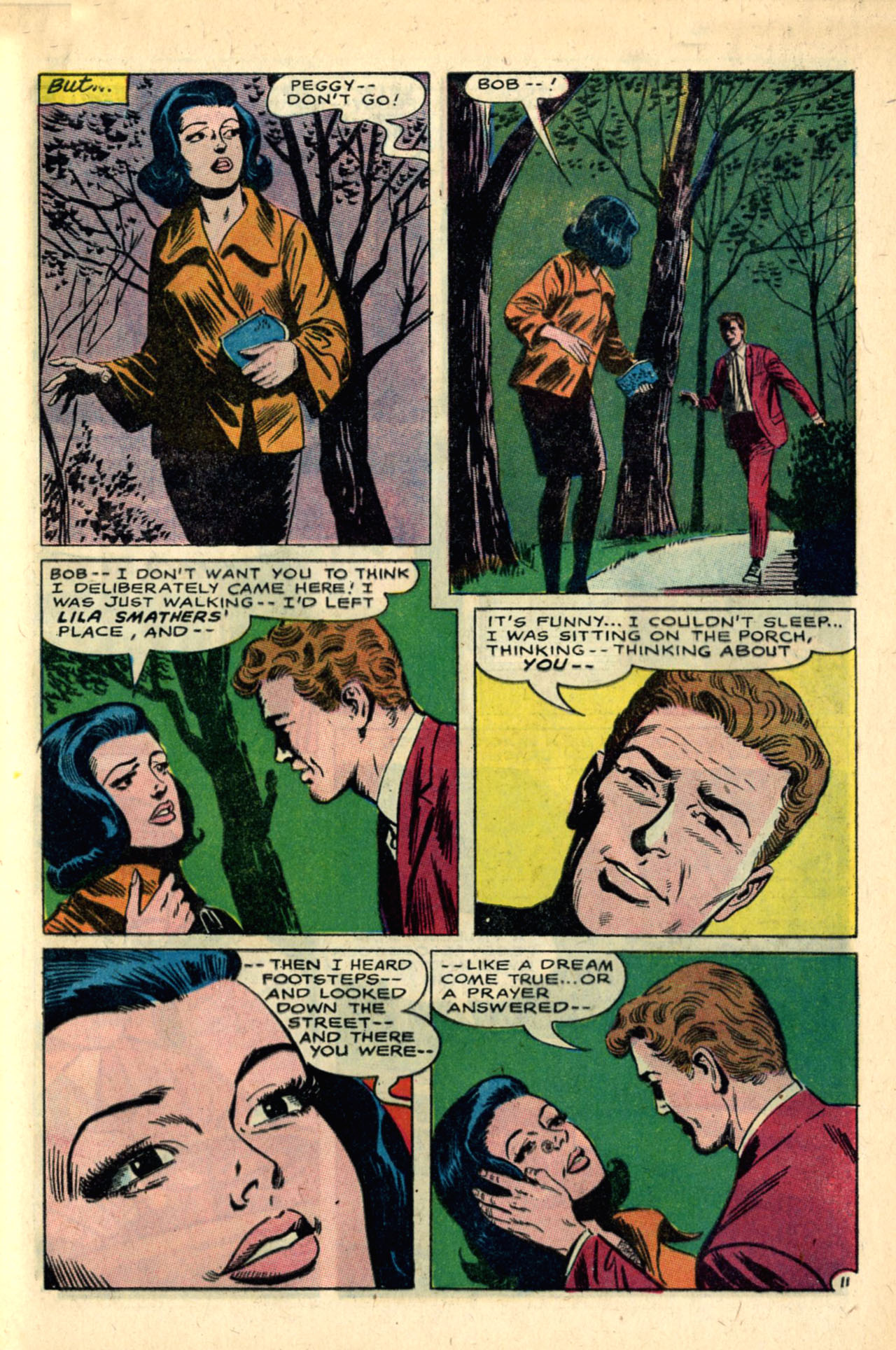 Read online Secret Hearts comic -  Issue #120 - 29