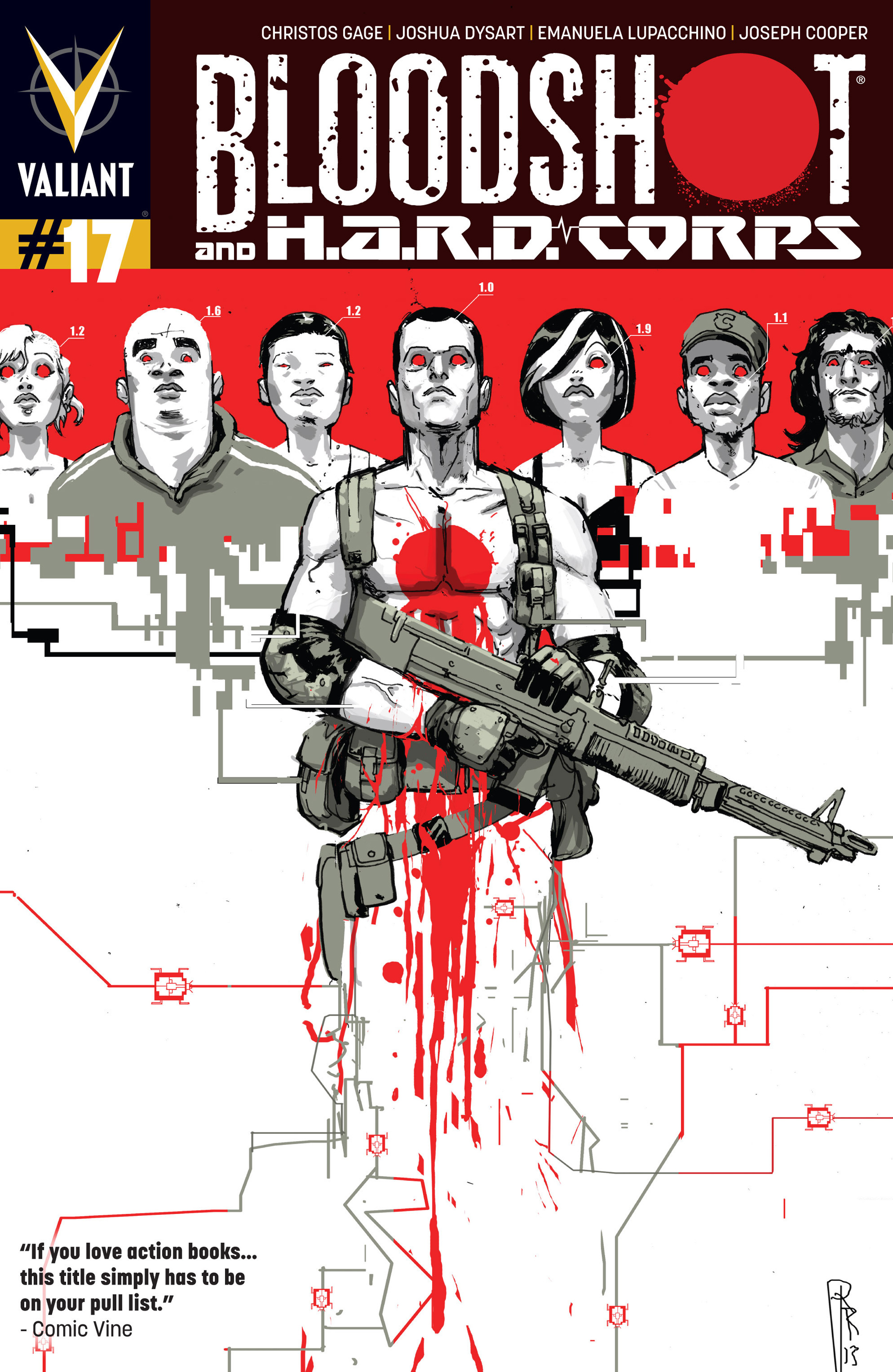 Read online Bloodshot and H.A.R.D.Corps comic -  Issue #17 - 1