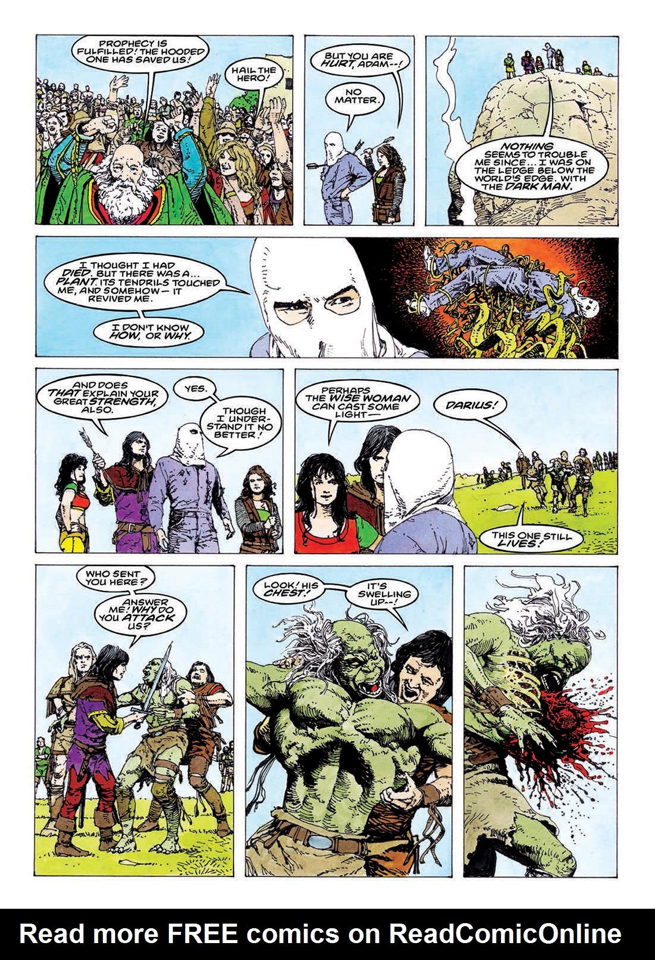 Read online Mazeworld comic -  Issue # TPB - 135