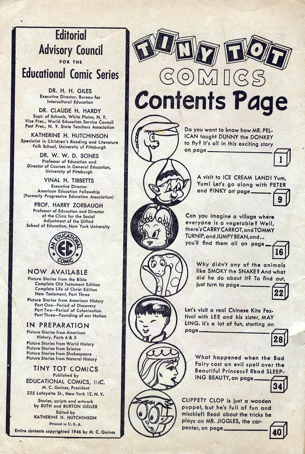 Tiny Tot Comics 1 Page 2