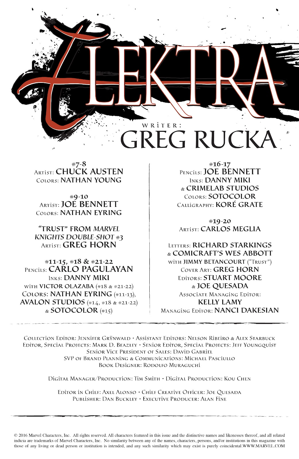 Read online Elektra (2001) comic -  Issue # _TPB Elektra by Greg Rucka Ultimate Collection (Part 1) - 3
