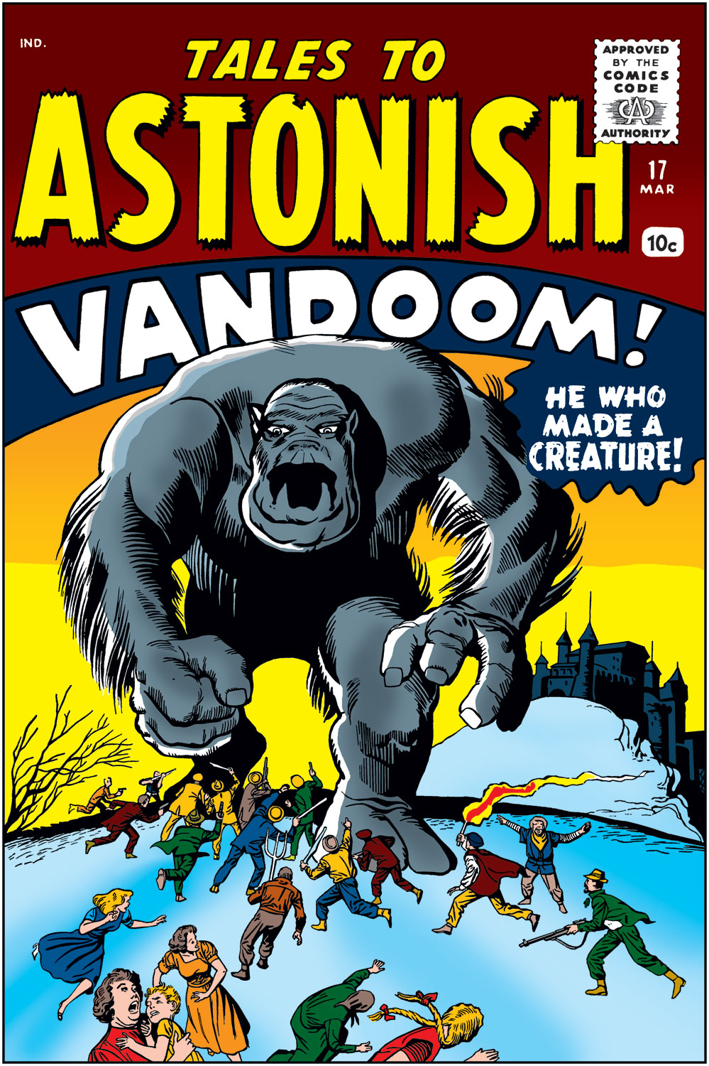 Tales to Astonish (1959) issue 17 - Page 1