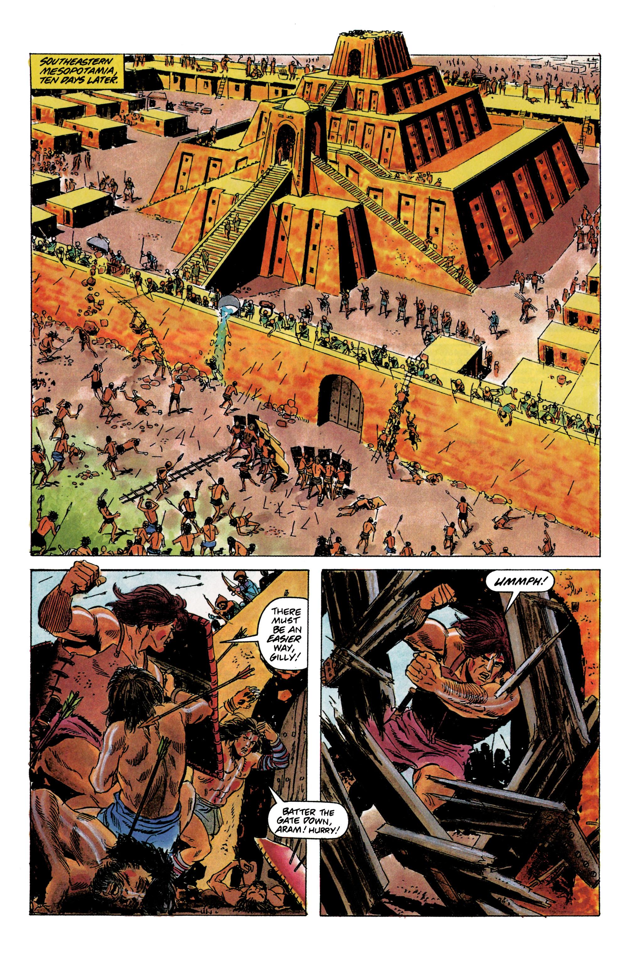 Read online Eternal Warrior (1992) comic -  Issue #1 - 10