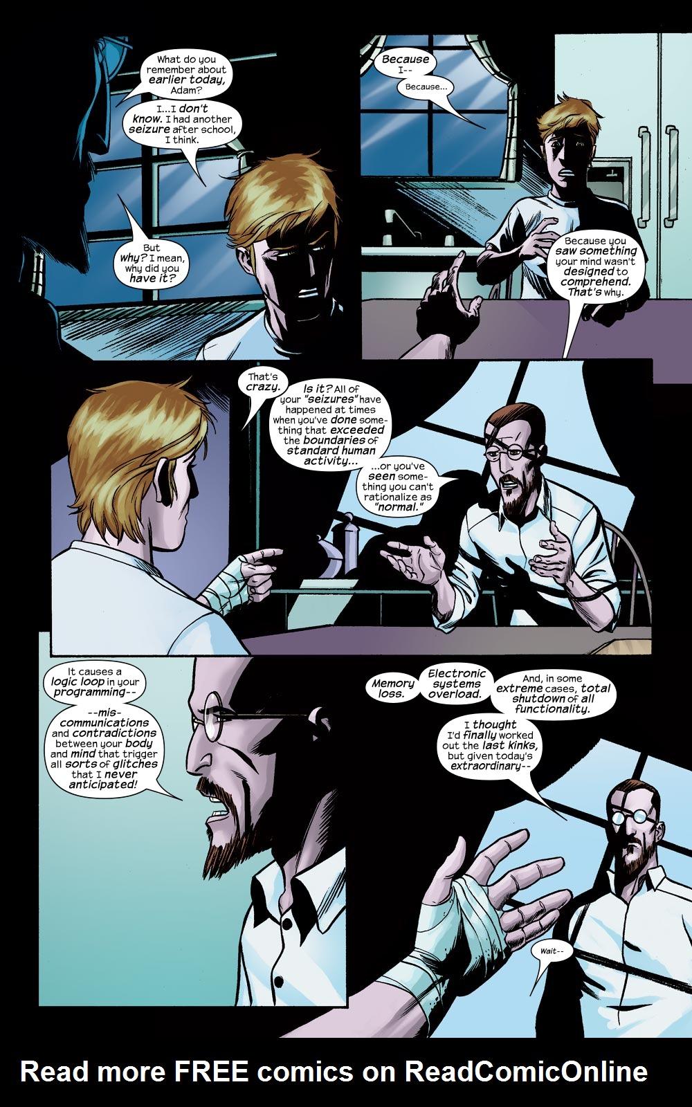 Read online Machine Teen comic -  Issue #3 - 7