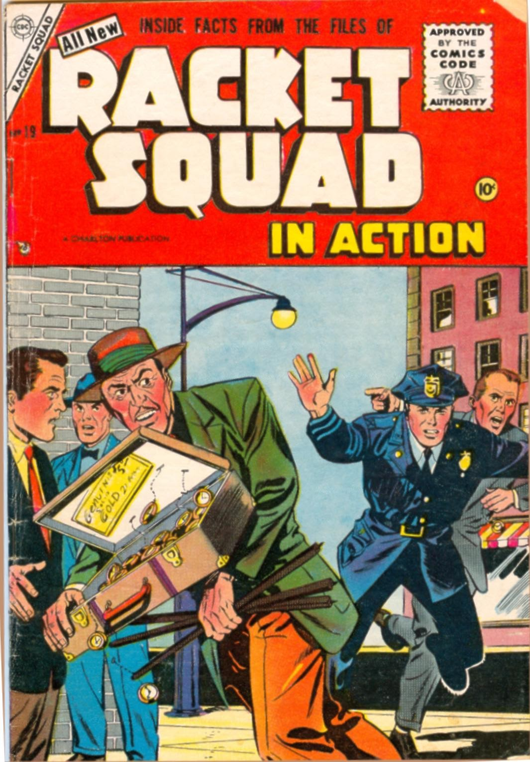 Read online Racket Squad in Action comic -  Issue #19 - 1