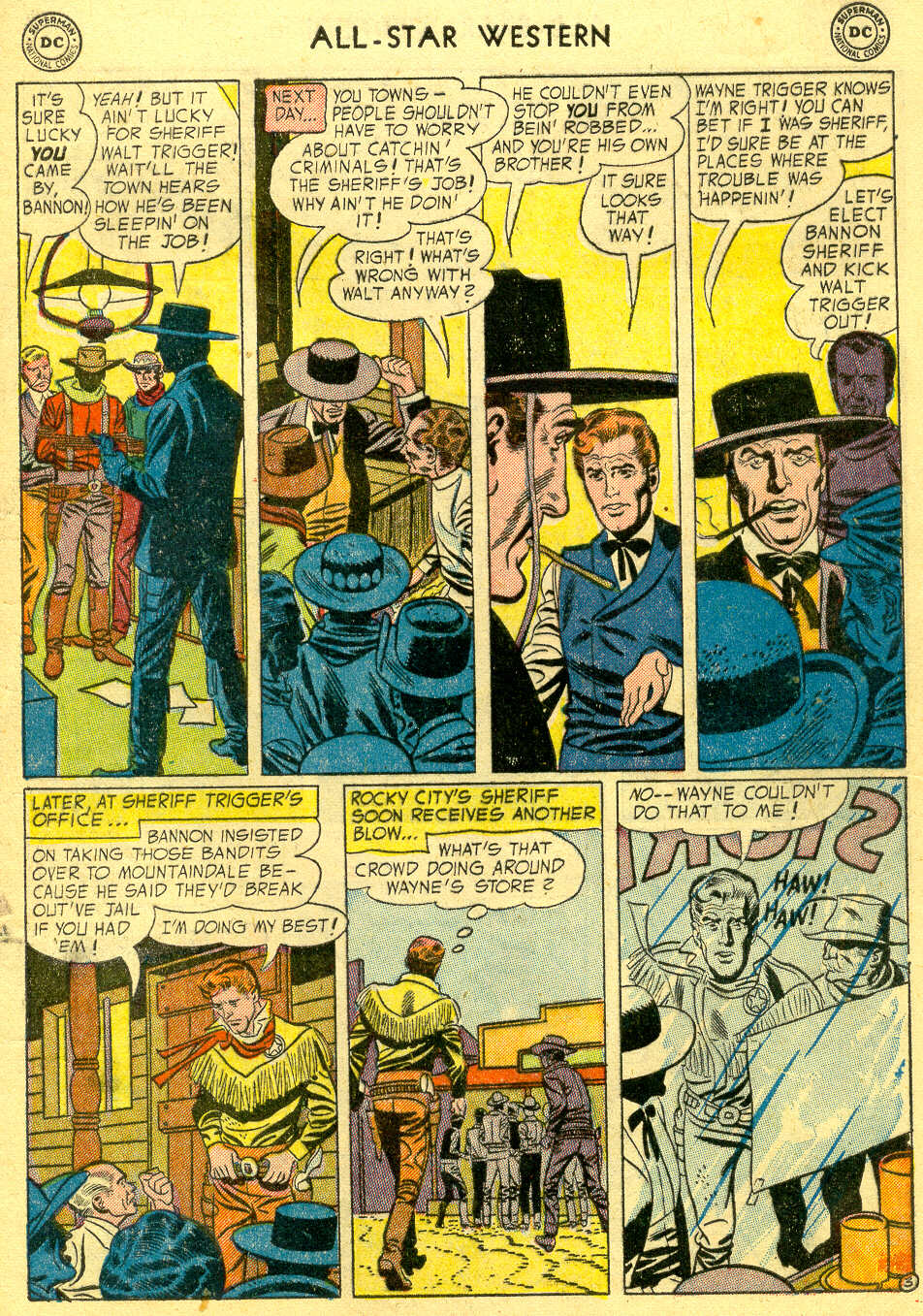 Read online All-Star Western (1951) comic -  Issue #78 - 5