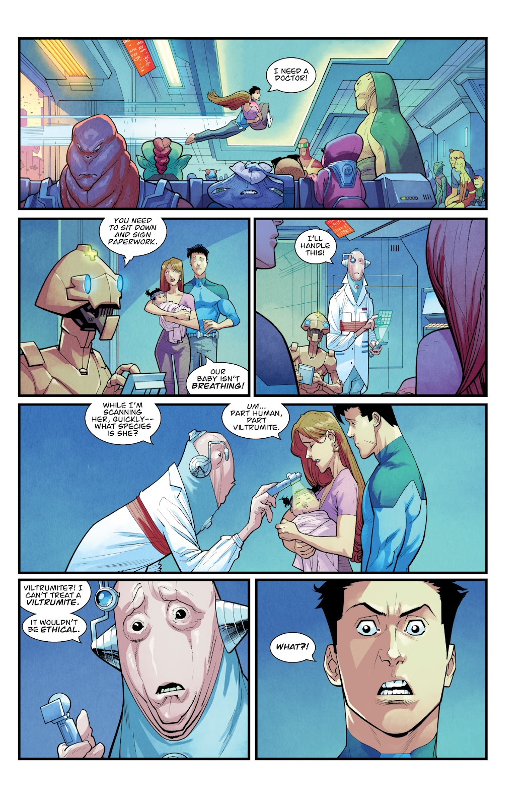 Invincible (2003) issue TPB 21 - Modern Family - Page 92