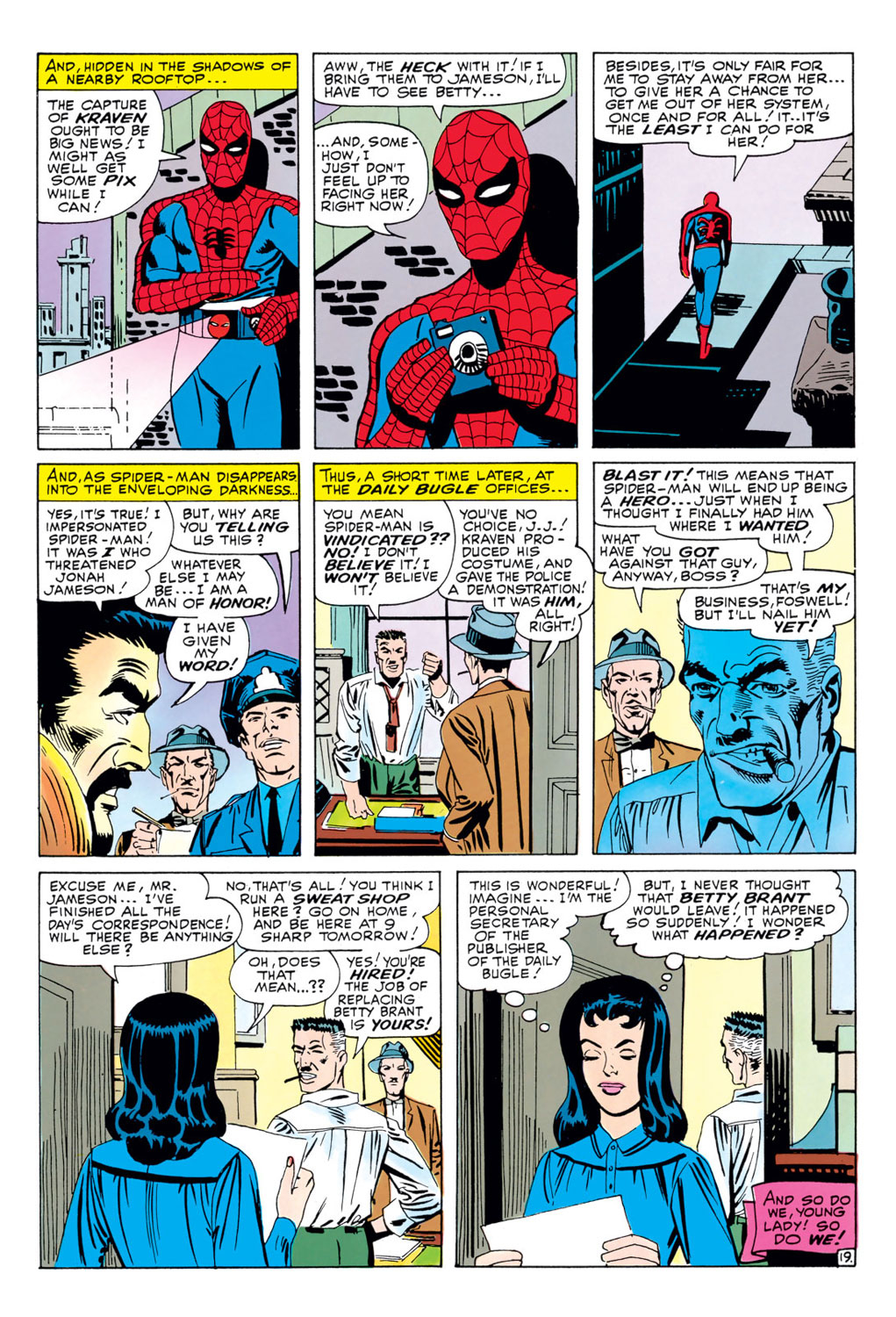 The Amazing Spider-Man (1963) 34 Page 19
