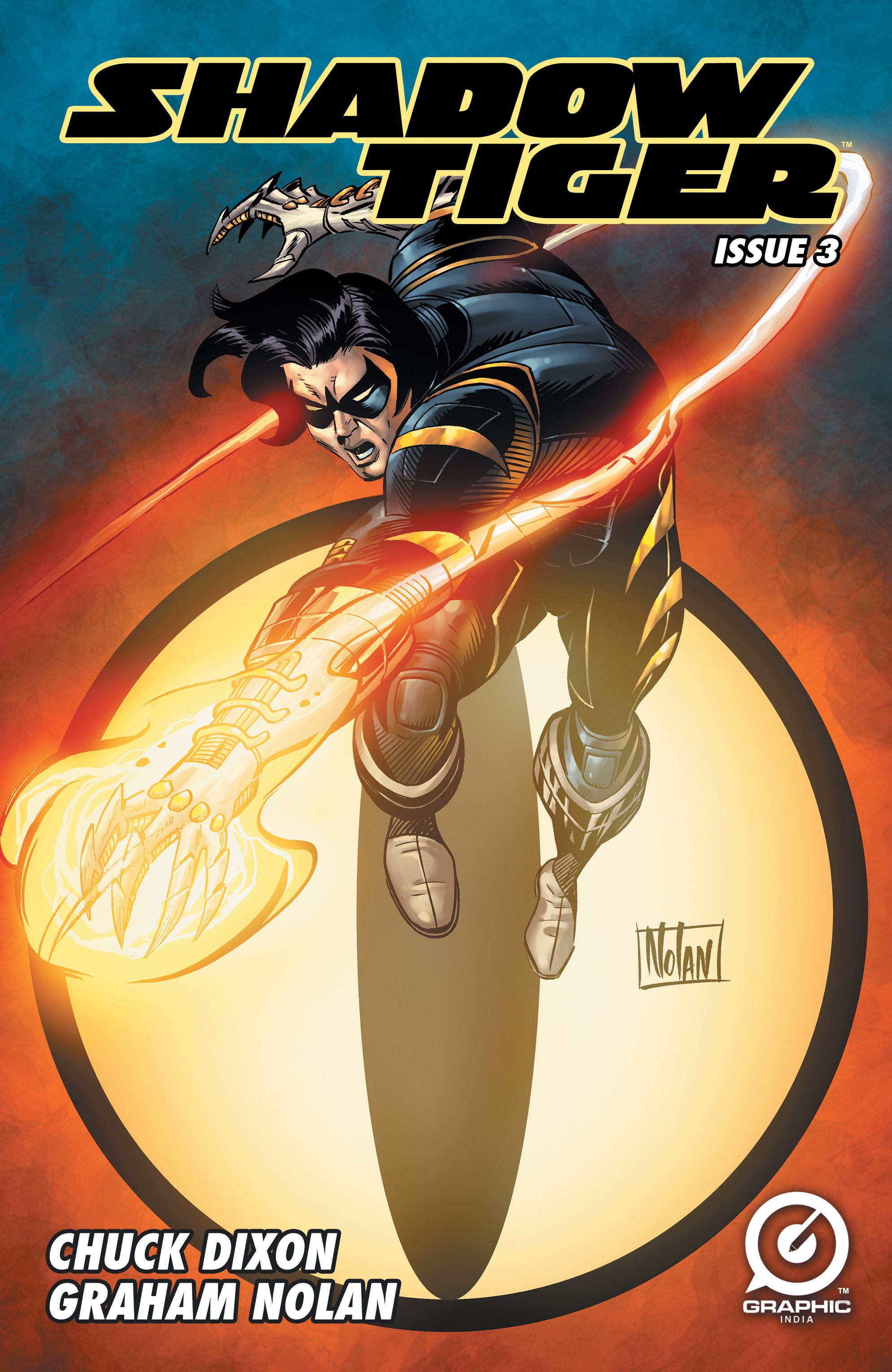 Read online Shadow Tiger comic -  Issue #3 - 1
