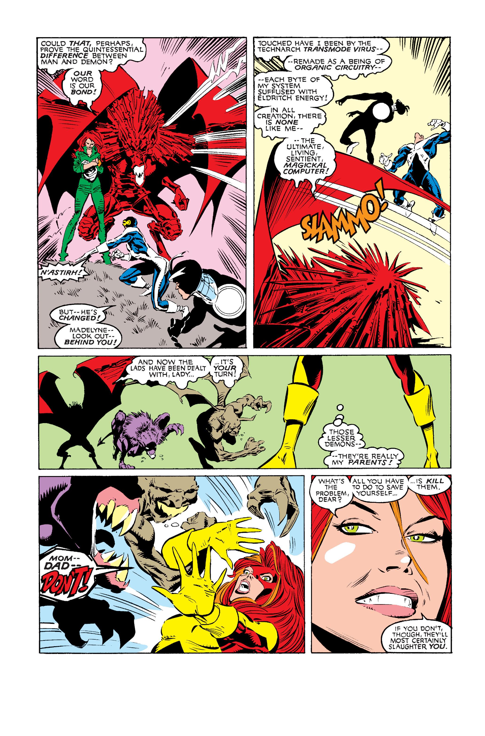 Read online Uncanny X-Men (1963) comic -  Issue #242 - 10