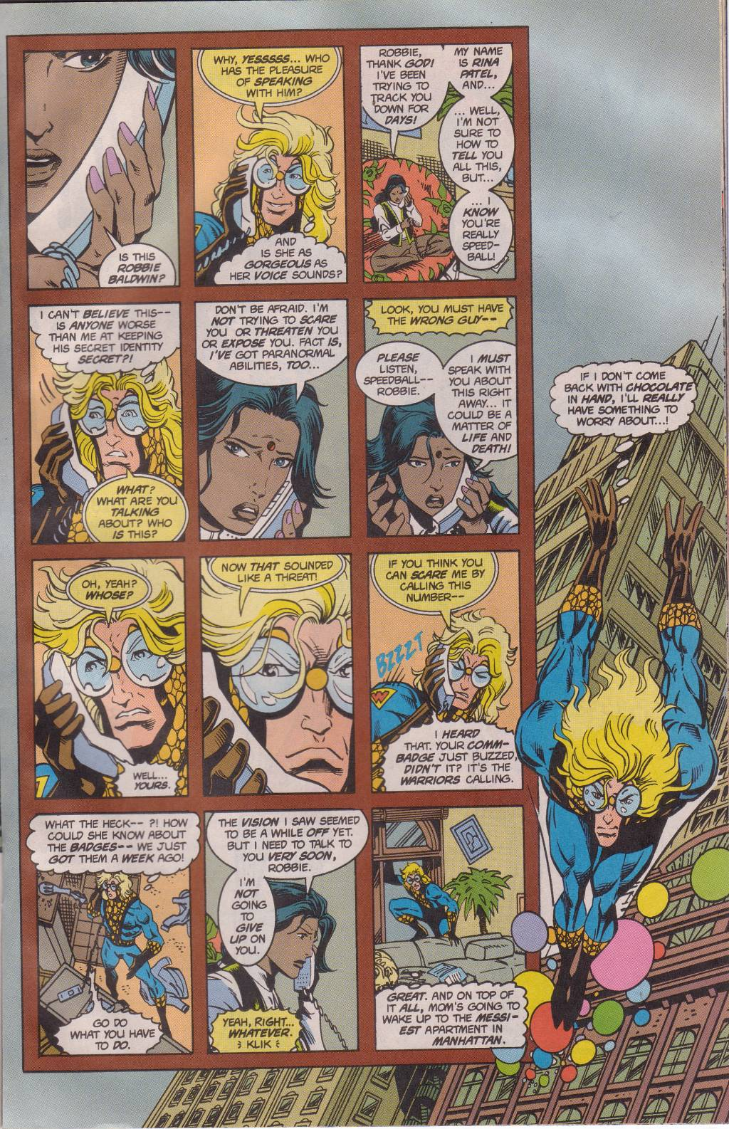 The New Warriors Issue #61 #65 - English 14