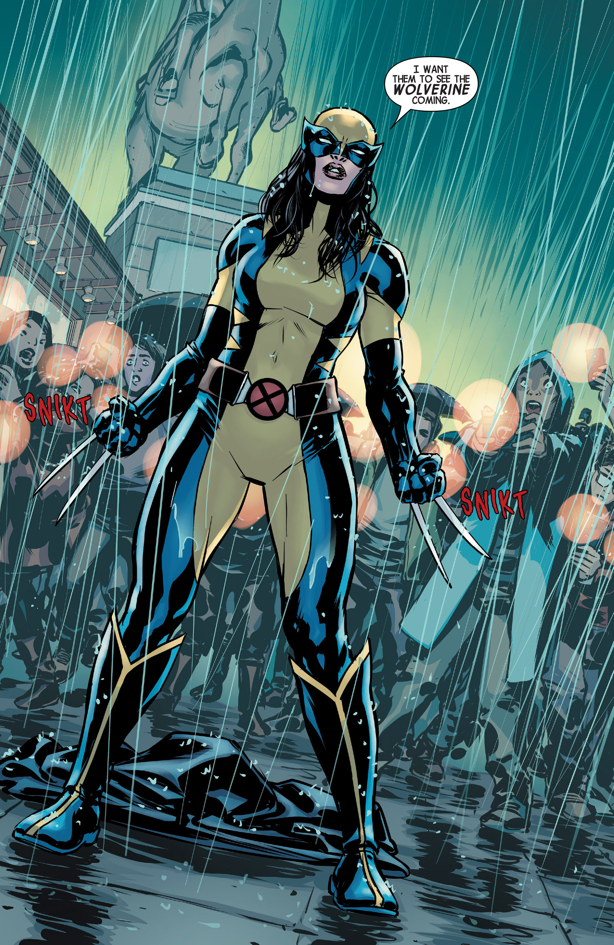 Read online All-New Wolverine (2016) comic -  Issue #1 - 12