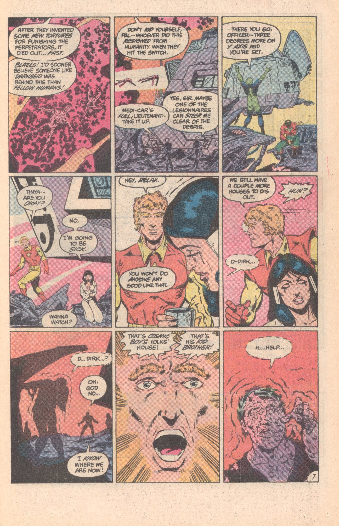 Legion of Super-Heroes (1980) 296 Page 7