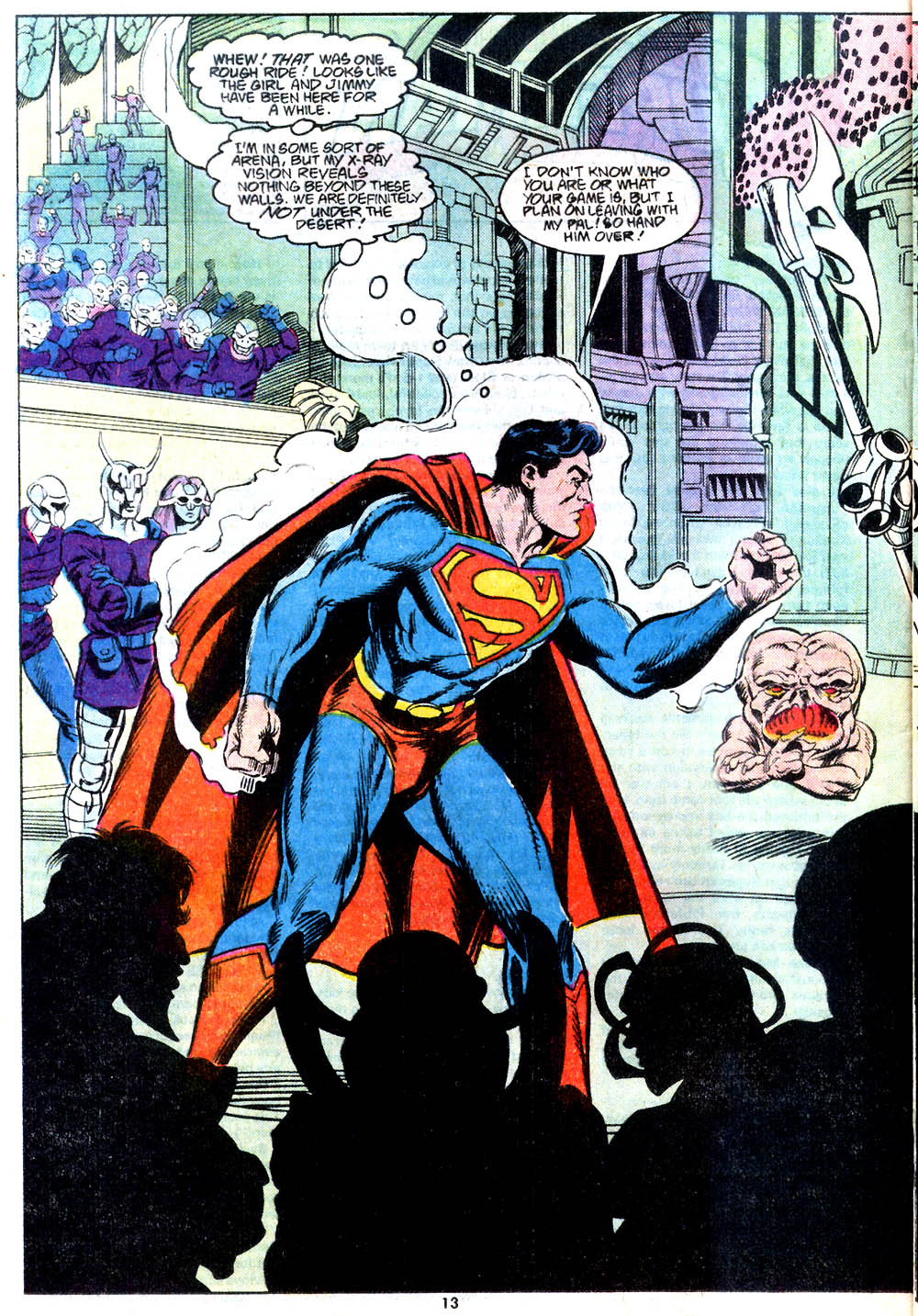 Read online Adventures of Superman (1987) comic -  Issue #443 - 14