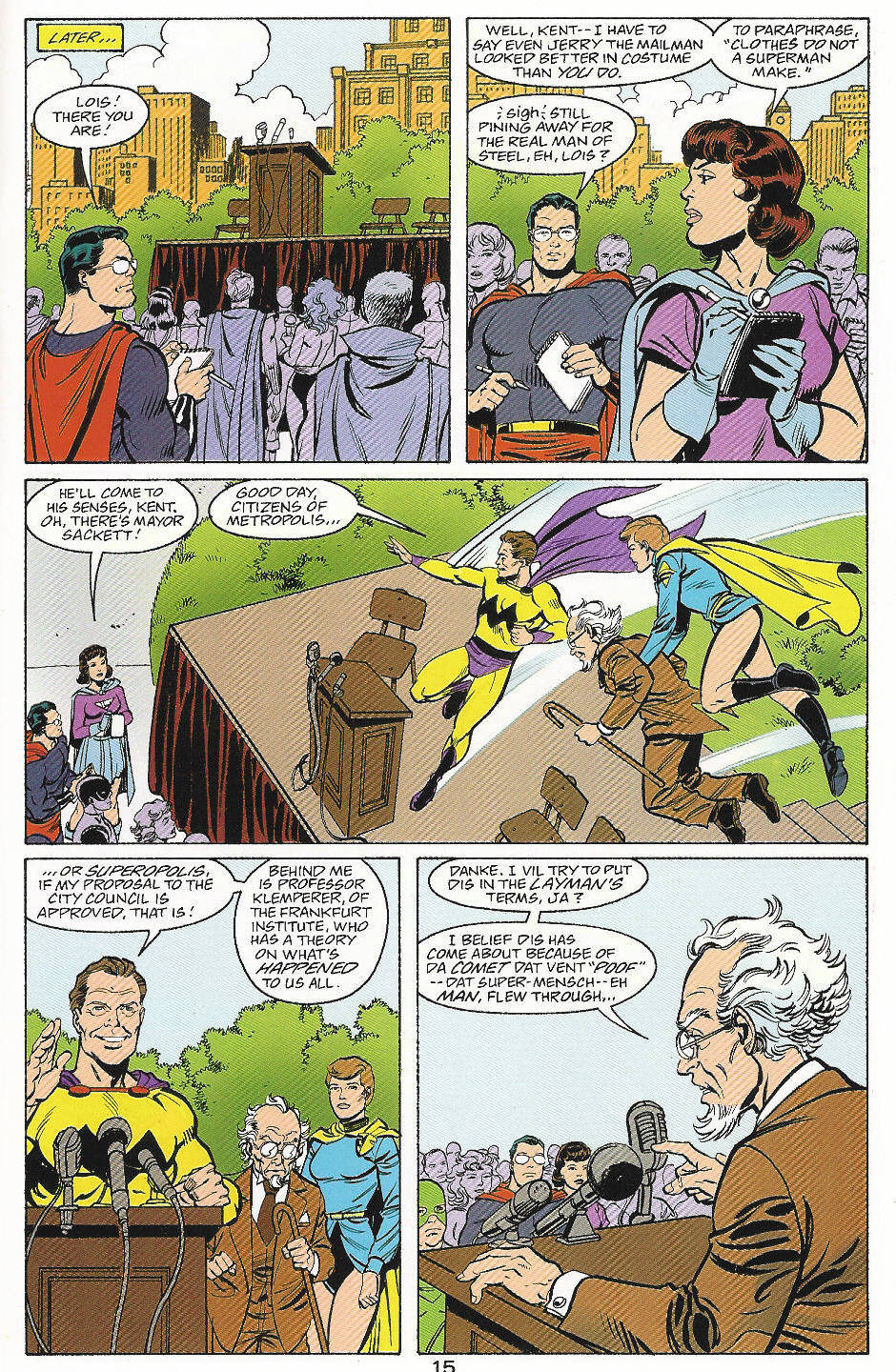 Read online Adventures of Superman (1987) comic -  Issue #559 - 16