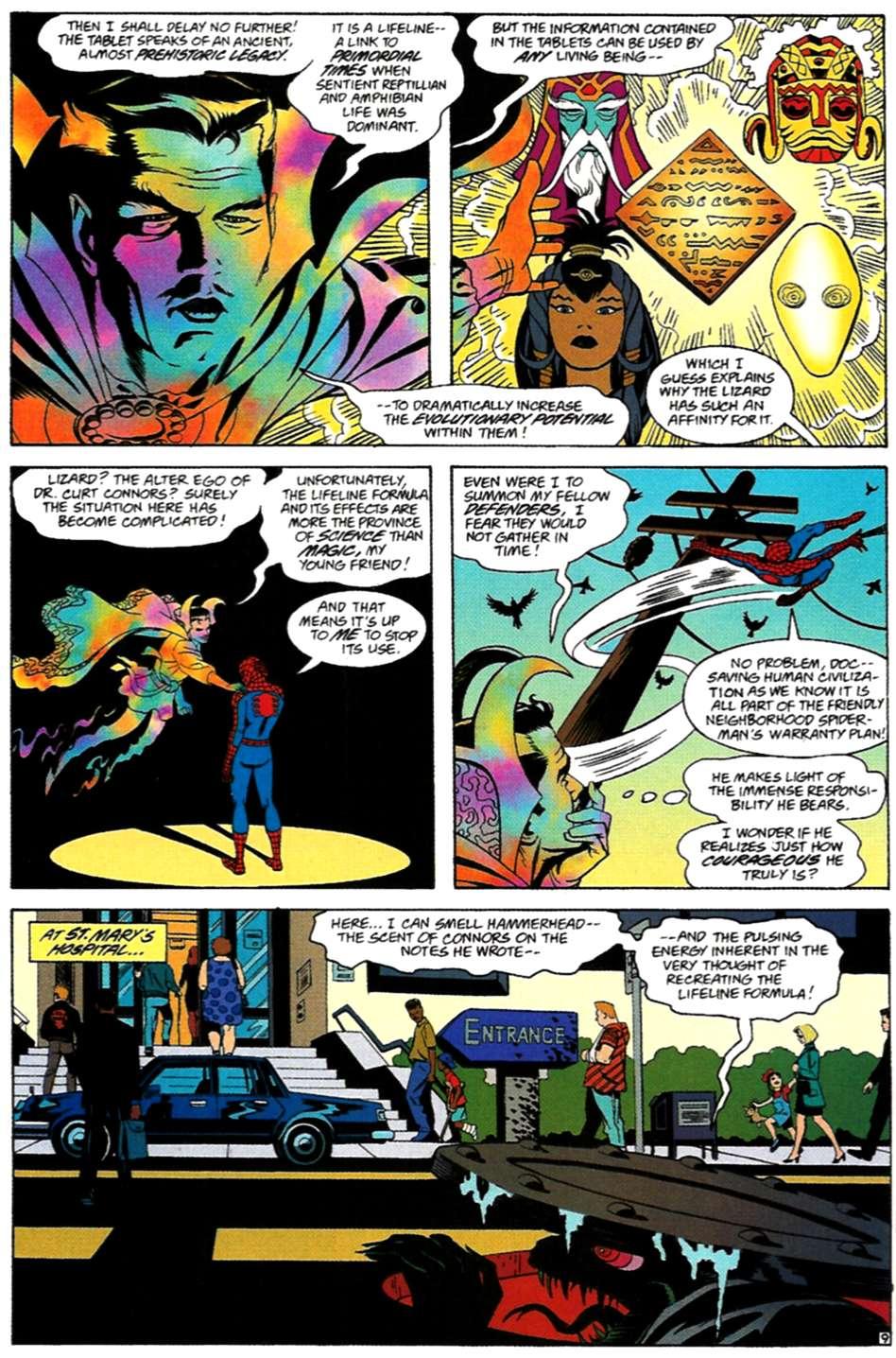 Read online Spider-Man: Lifeline comic -  Issue #3 - 10