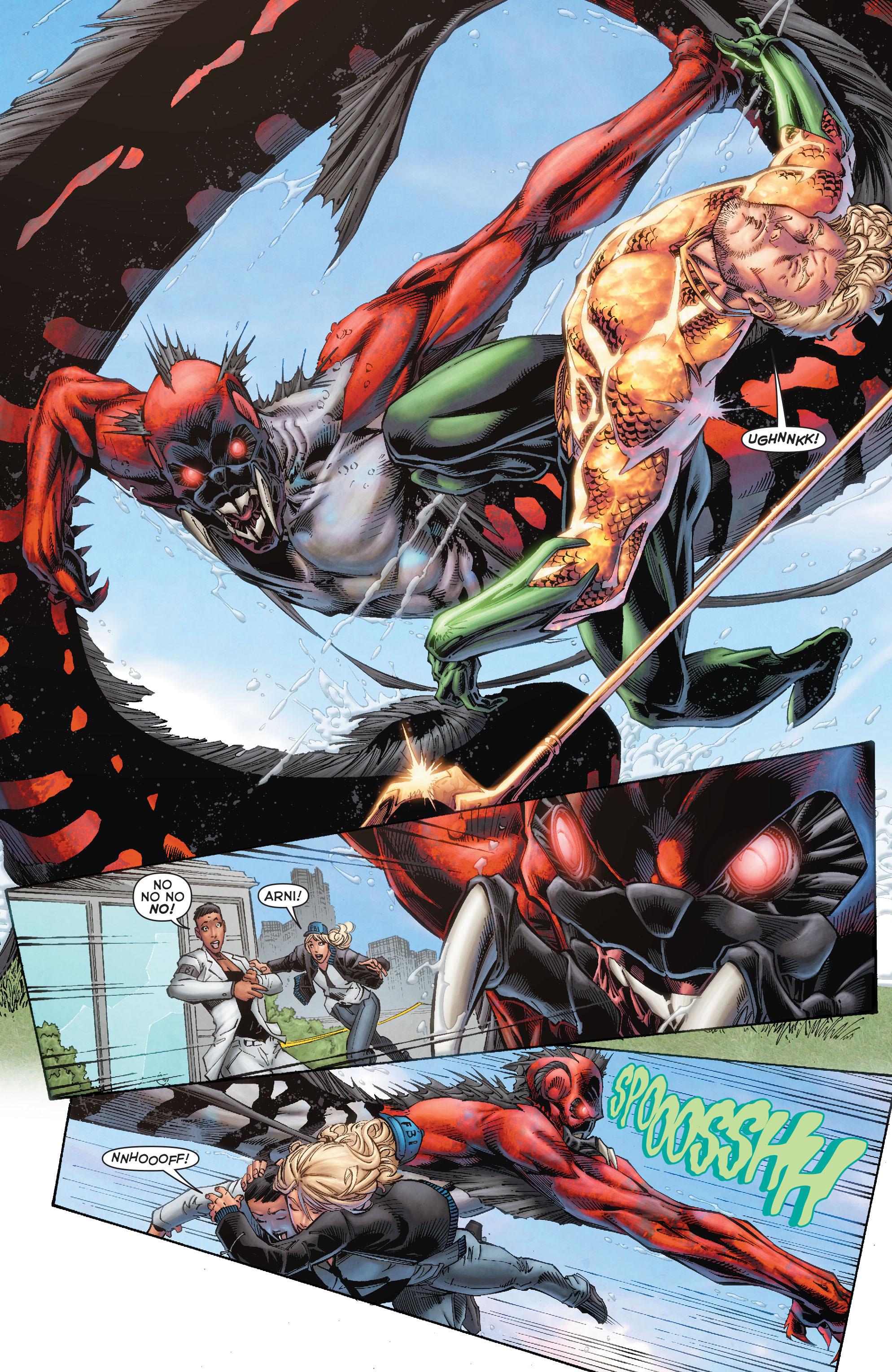 Read online Aquaman (2011) comic -  Issue #50 - 19