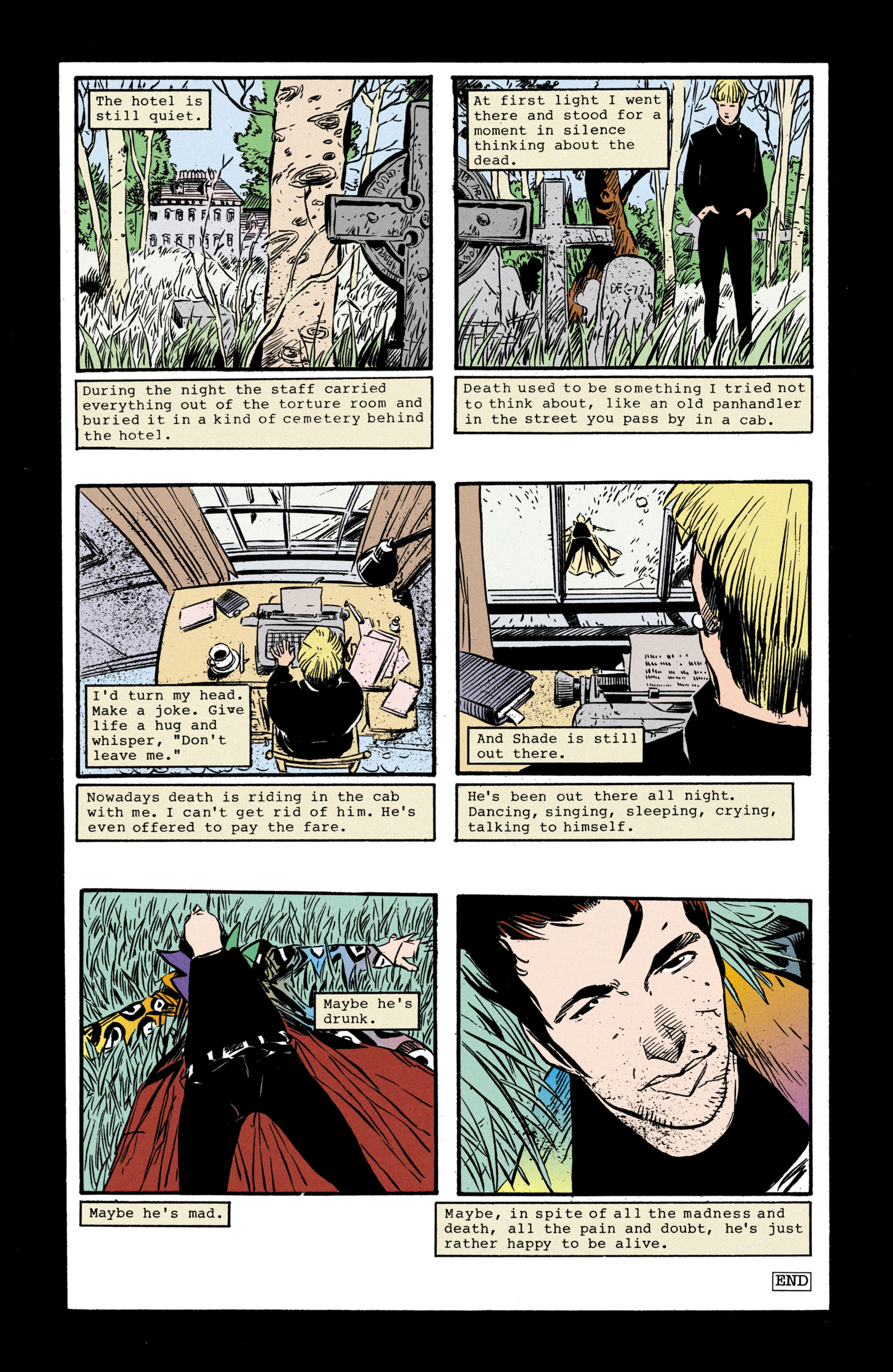 Read online Shade, the Changing Man comic -  Issue #35 - 25