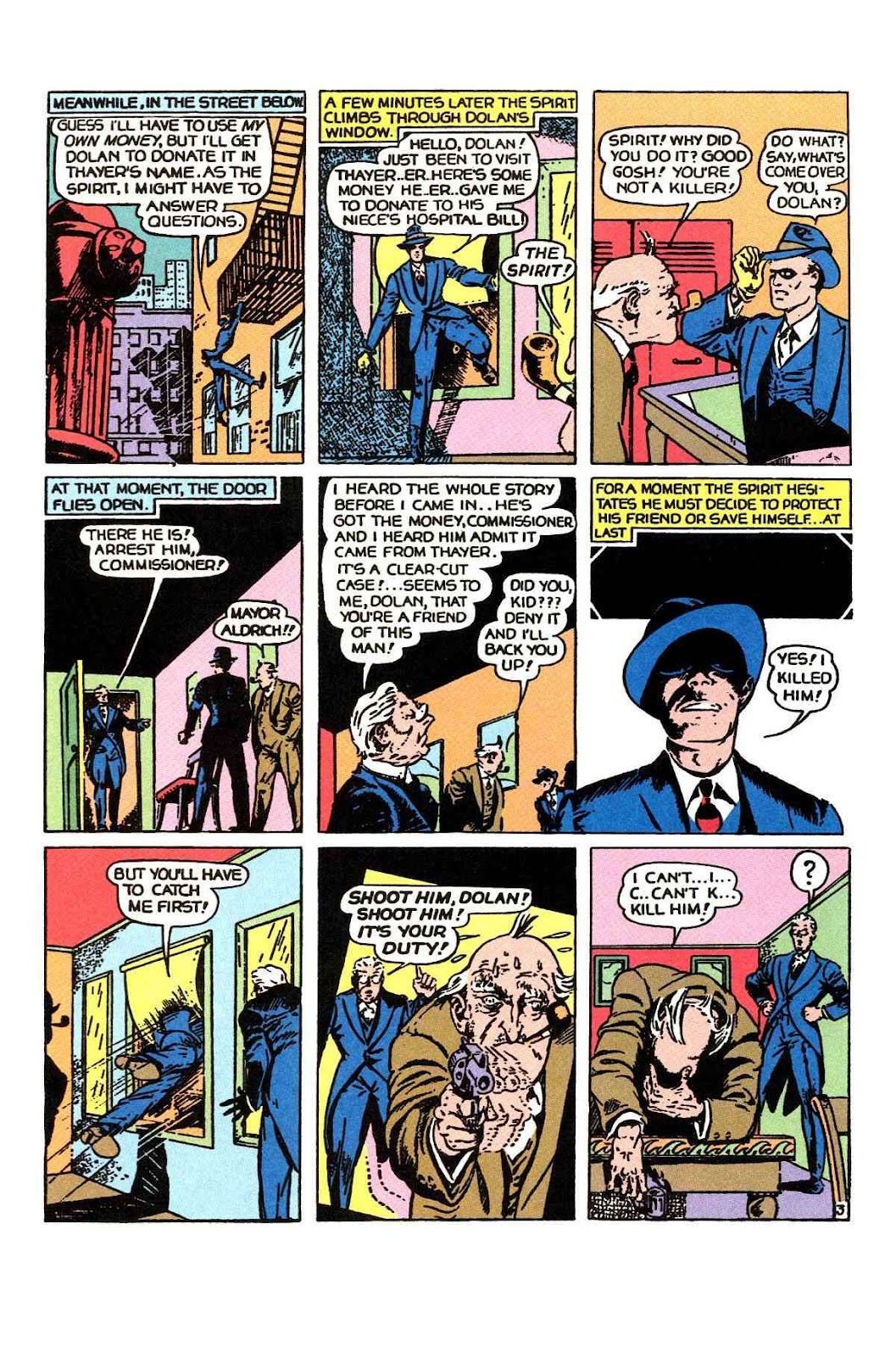 Read online Will Eisner's The Spirit Archives comic -  Issue # TPB 1 (Part 1) - 53