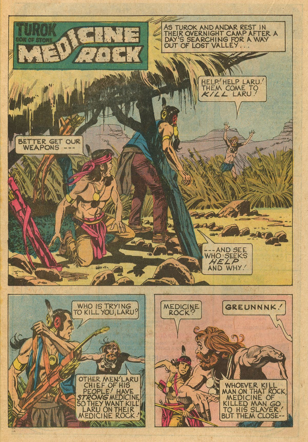 Read online Turok, Son of Stone comic -  Issue #111 - 20