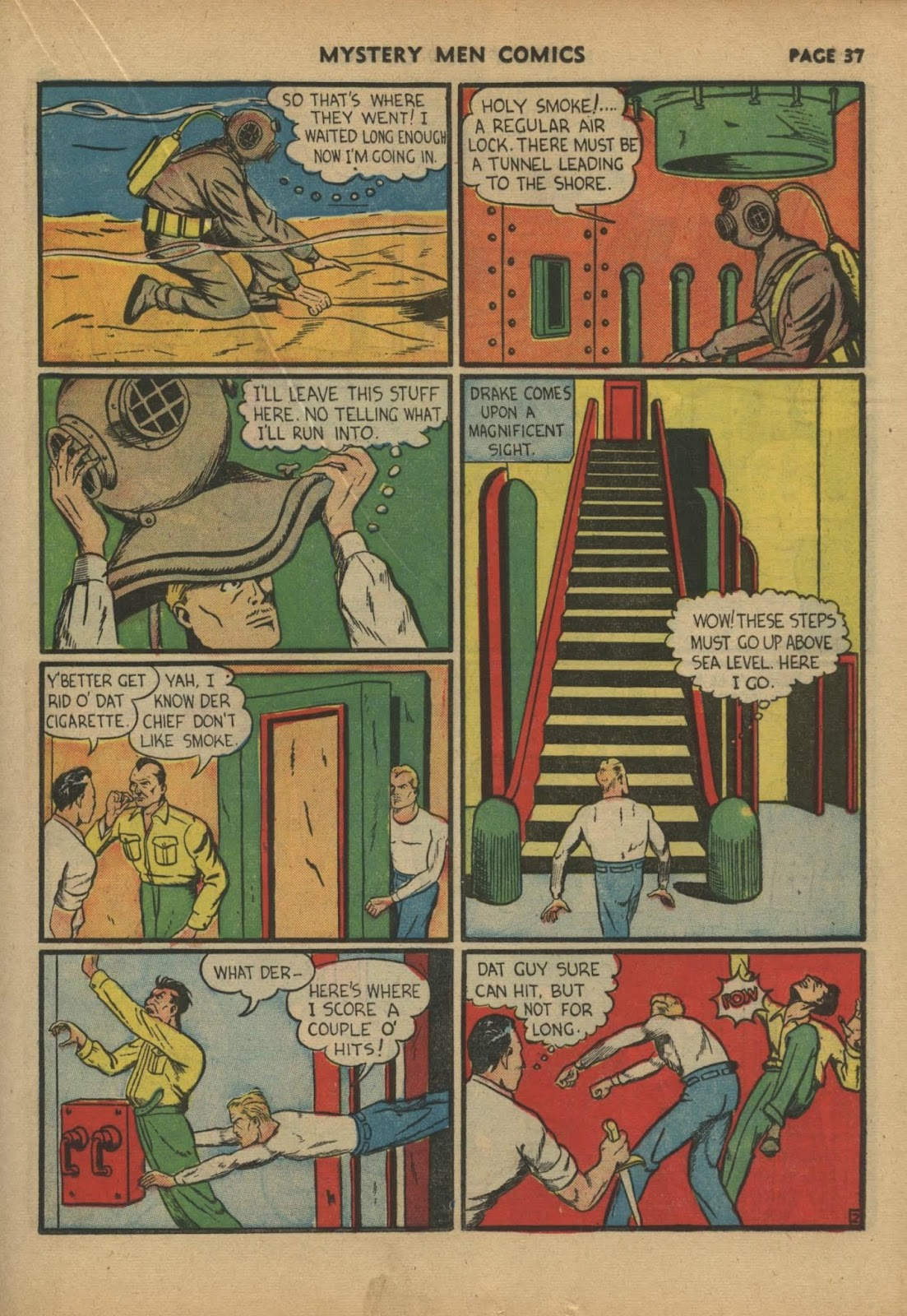 Mystery Men Comics issue 17 - Page 39