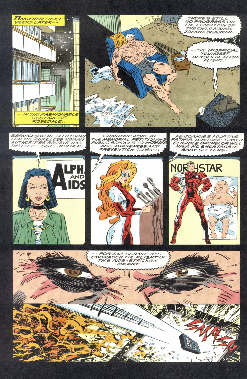 Read online Alpha Flight (1983) comic -  Issue #106 - 10