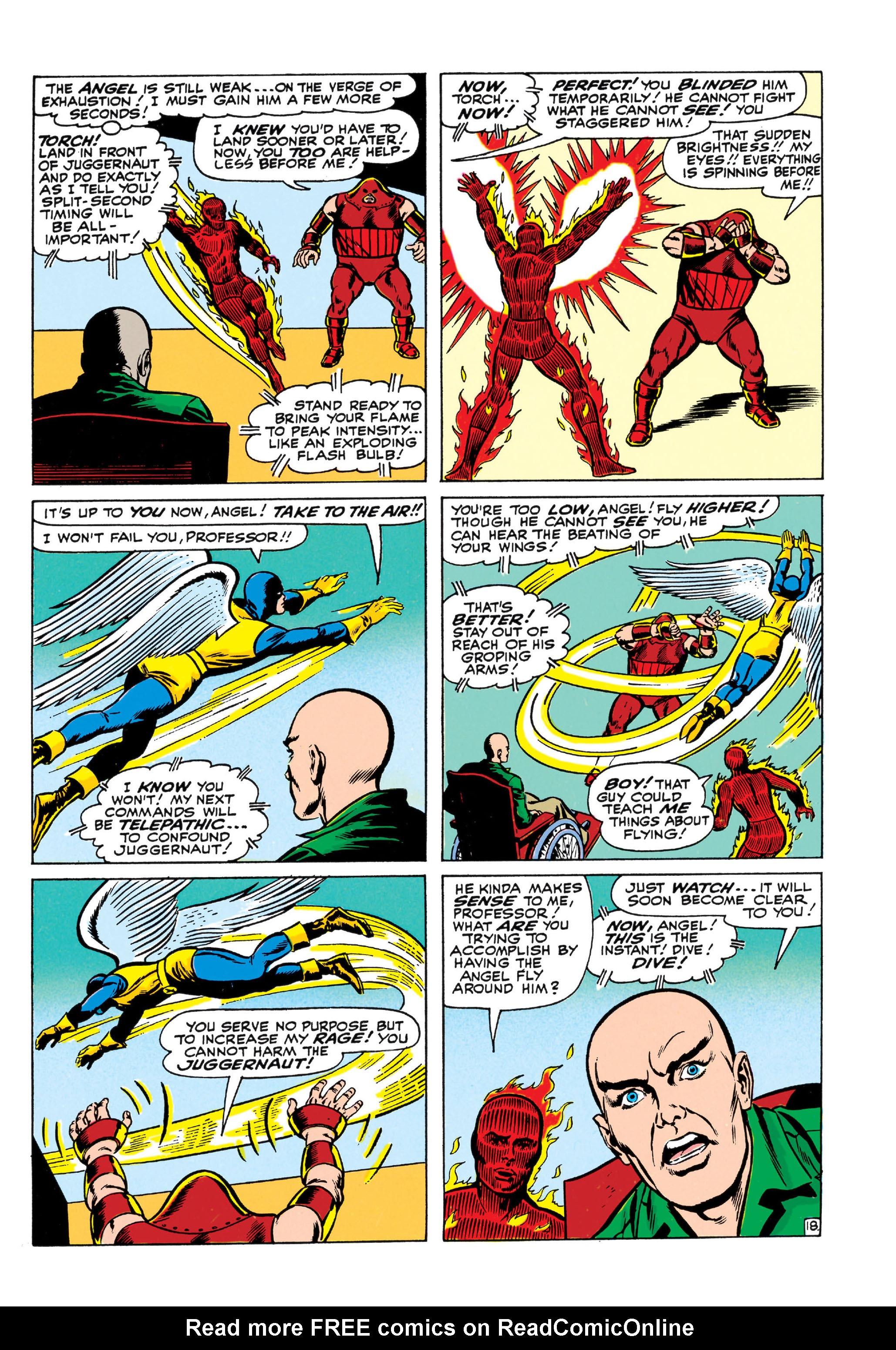 Read online Uncanny X-Men (1963) comic -  Issue #13 - 19