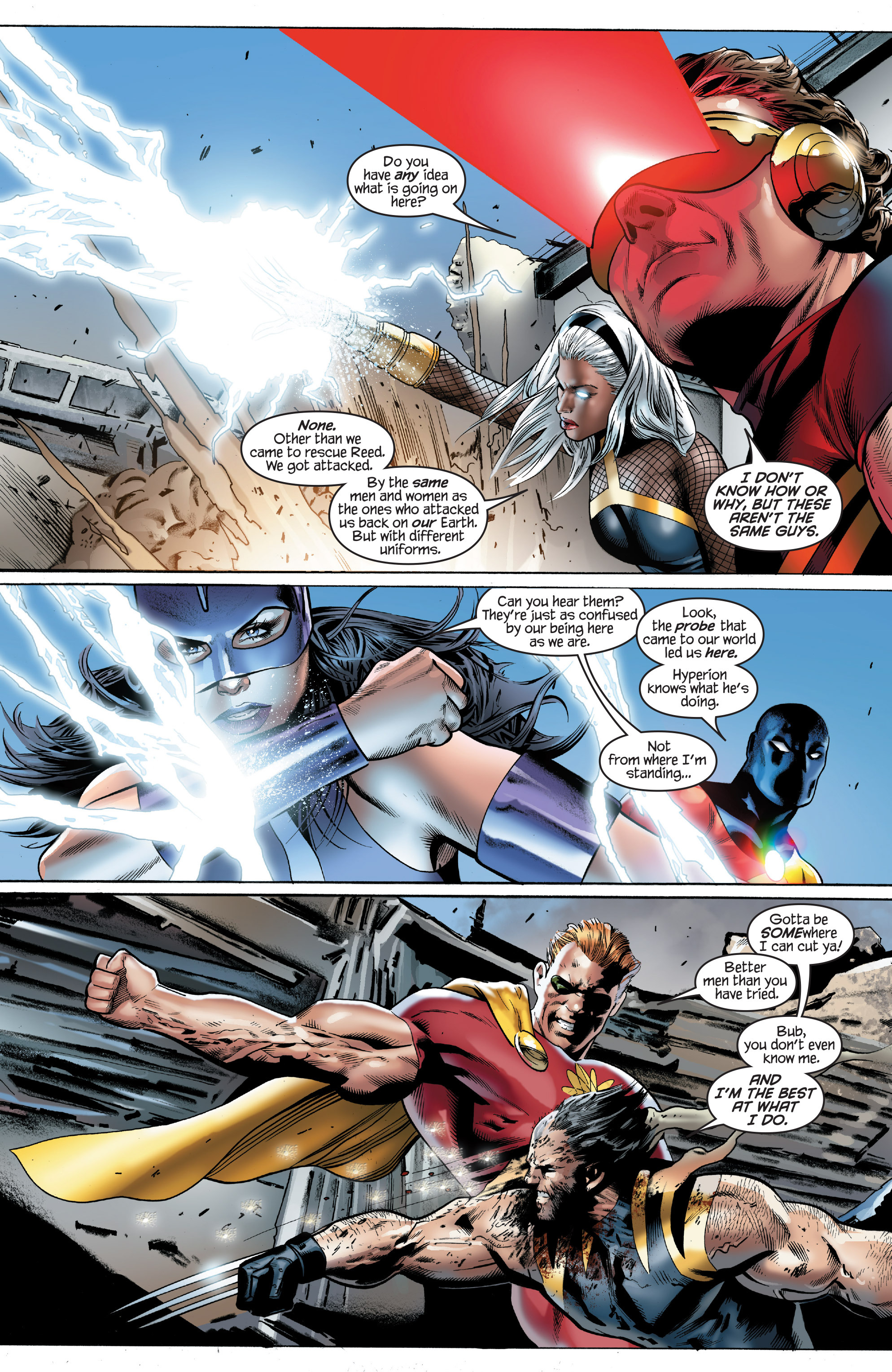 Read online Ultimate Power comic -  Issue #8 - 6