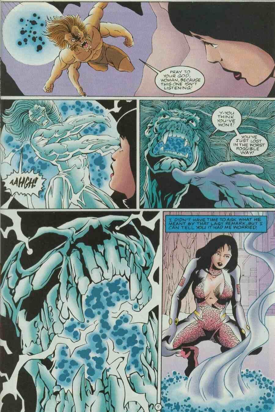 Read online Ultraverse Premiere comic -  Issue #9 - 11