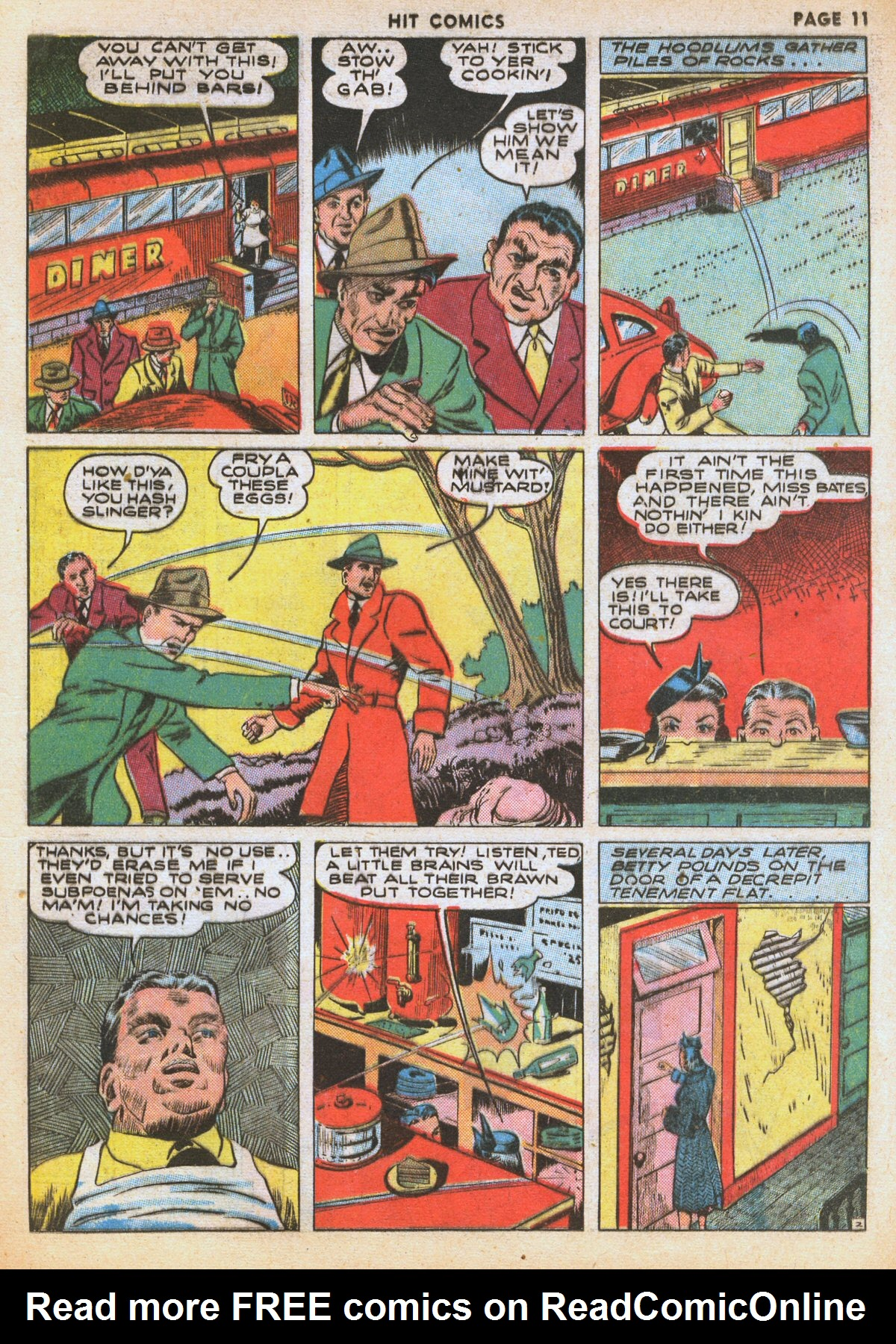 Read online Hit Comics comic -  Issue #12 - 13