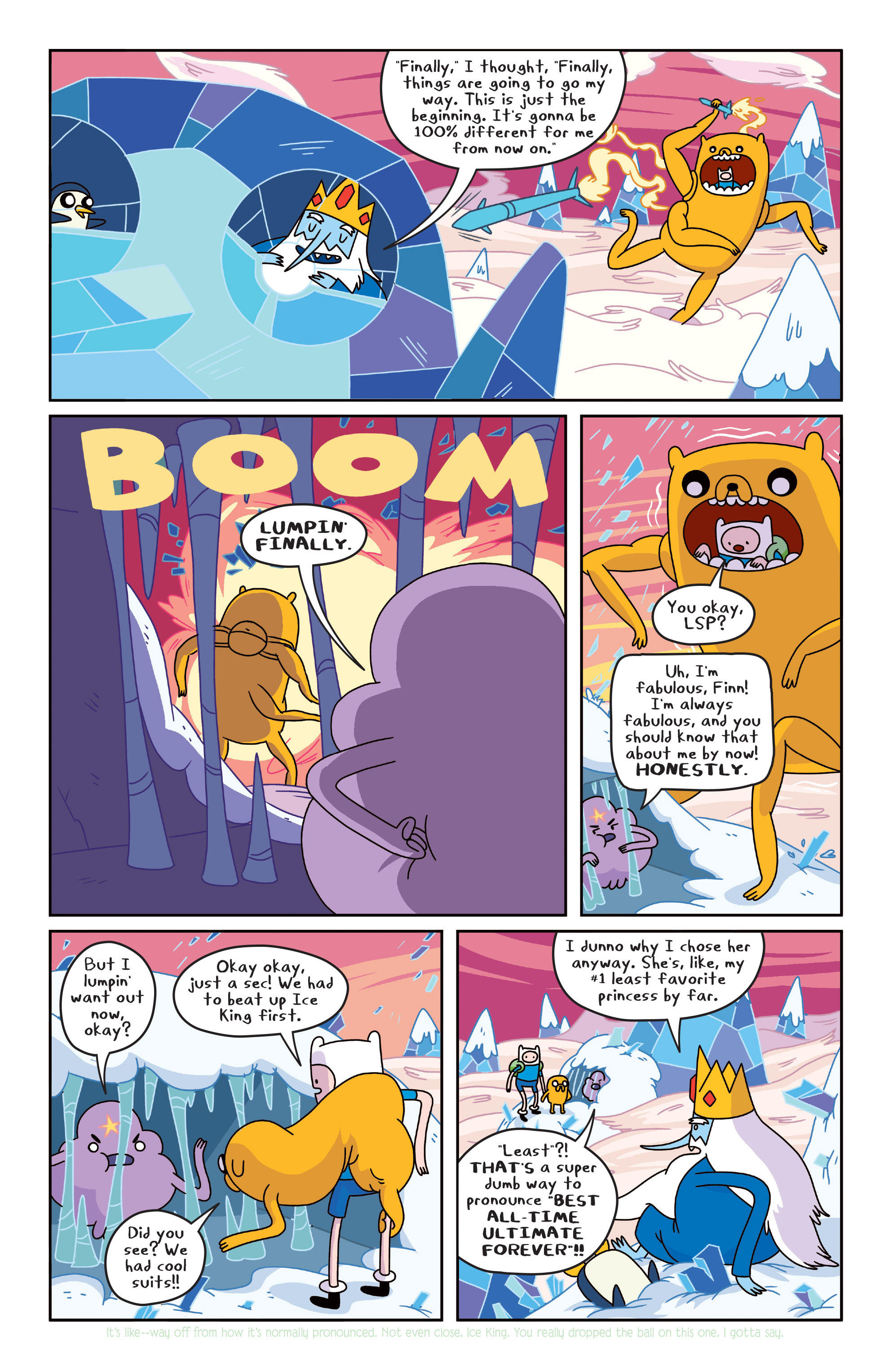 Read online Adventure Time comic -  Issue #Adventure Time _TPB 4 - 27