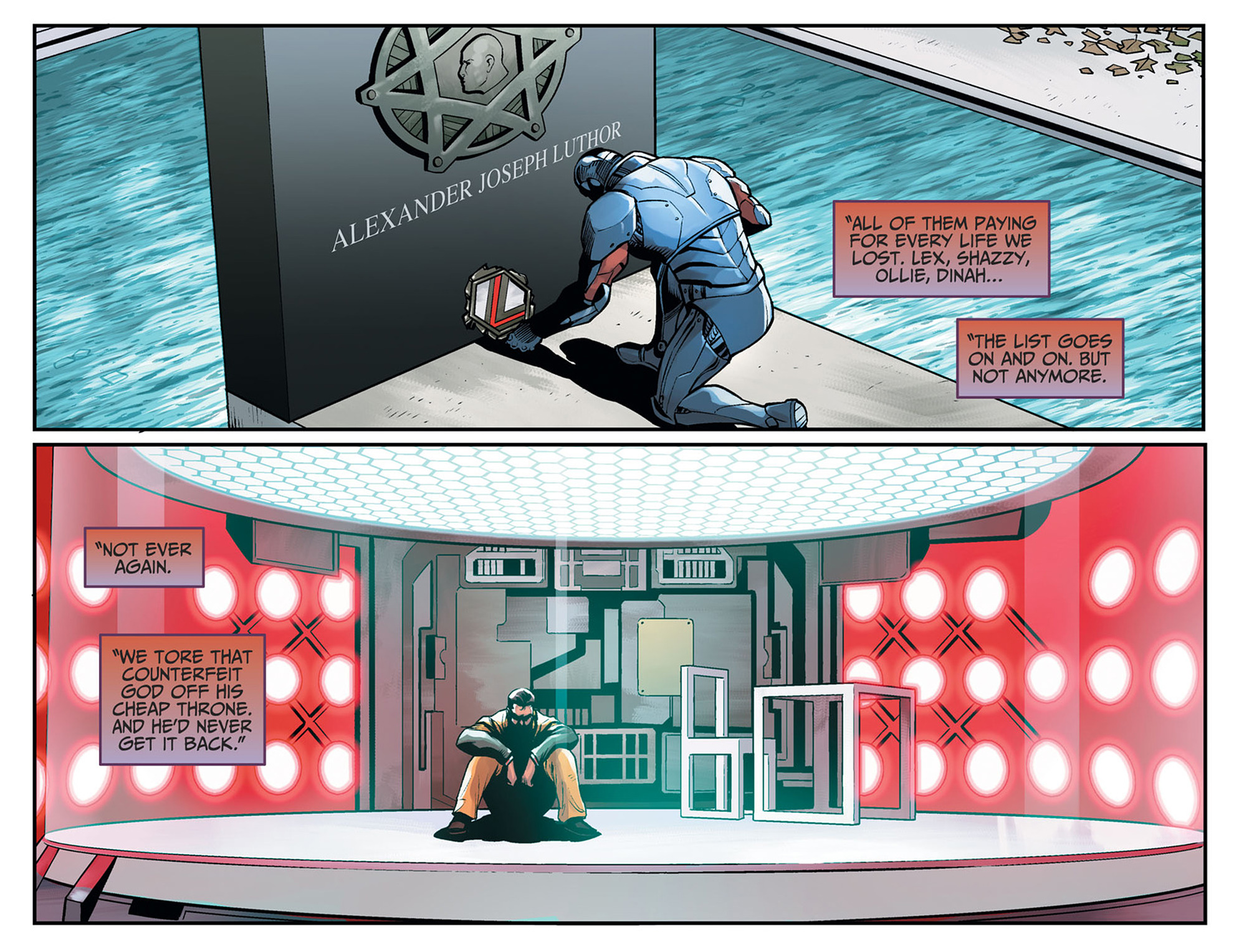 Read online Injustice: Ground Zero comic -  Issue #24 - 15
