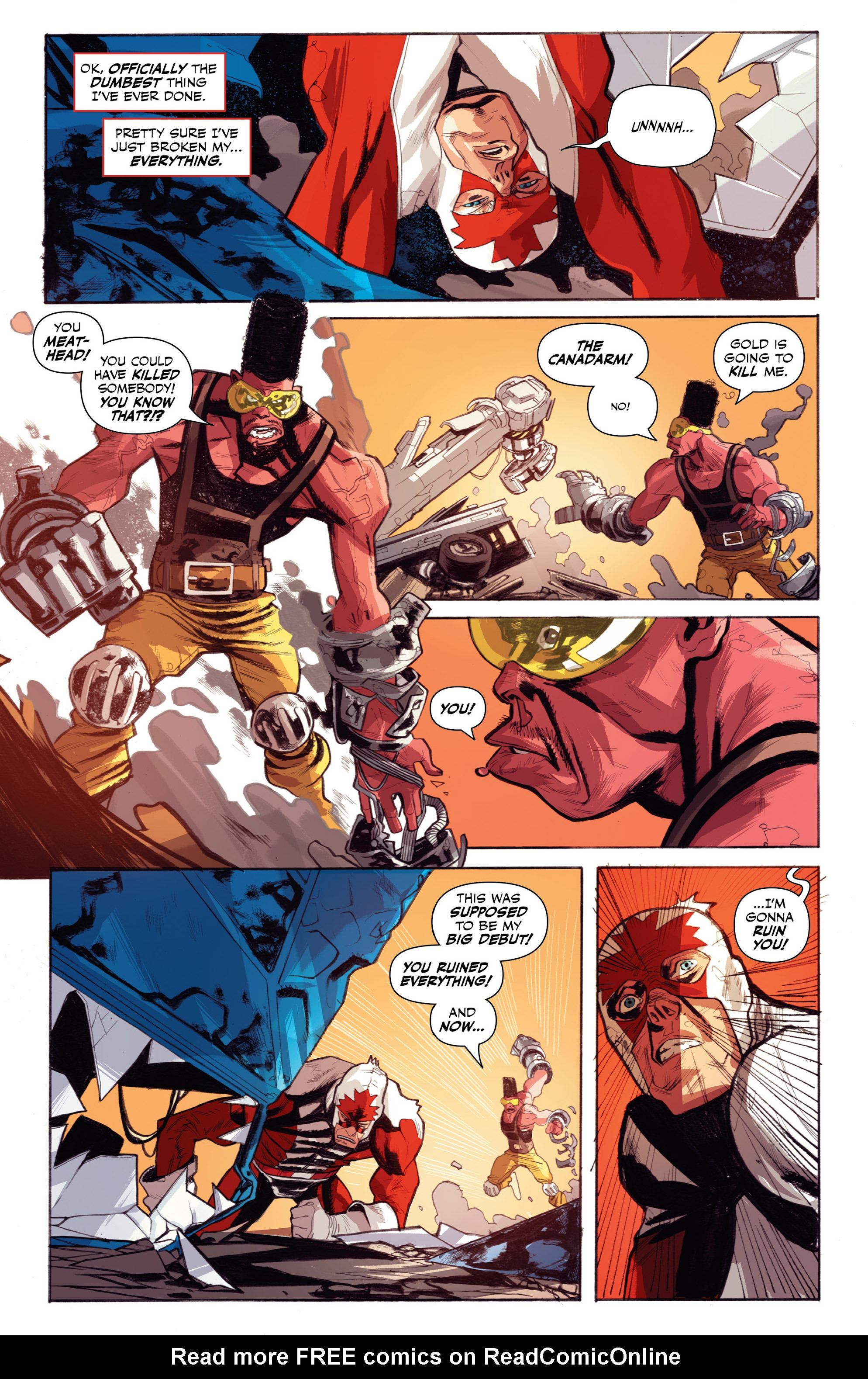 Read online All-New Classic Captain Canuck comic -  Issue #0 - 32