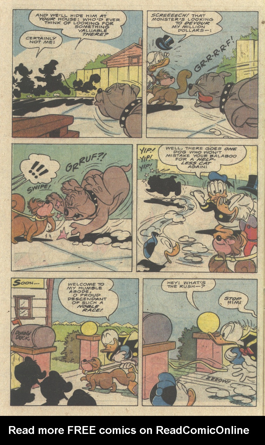 Read online Uncle Scrooge (1953) comic -  Issue #242 - 32