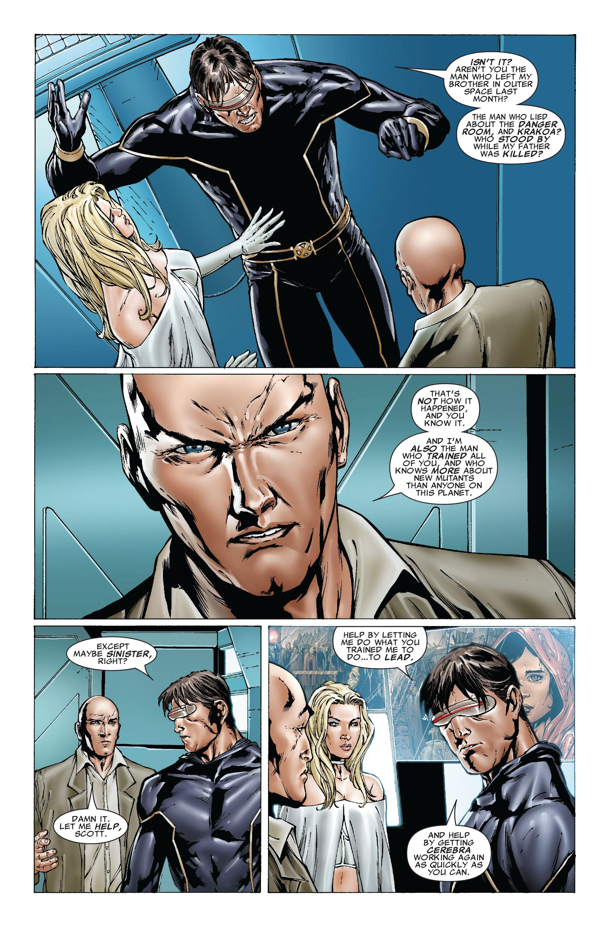 Read online Uncanny X-Men (1963) comic -  Issue #492 - 7