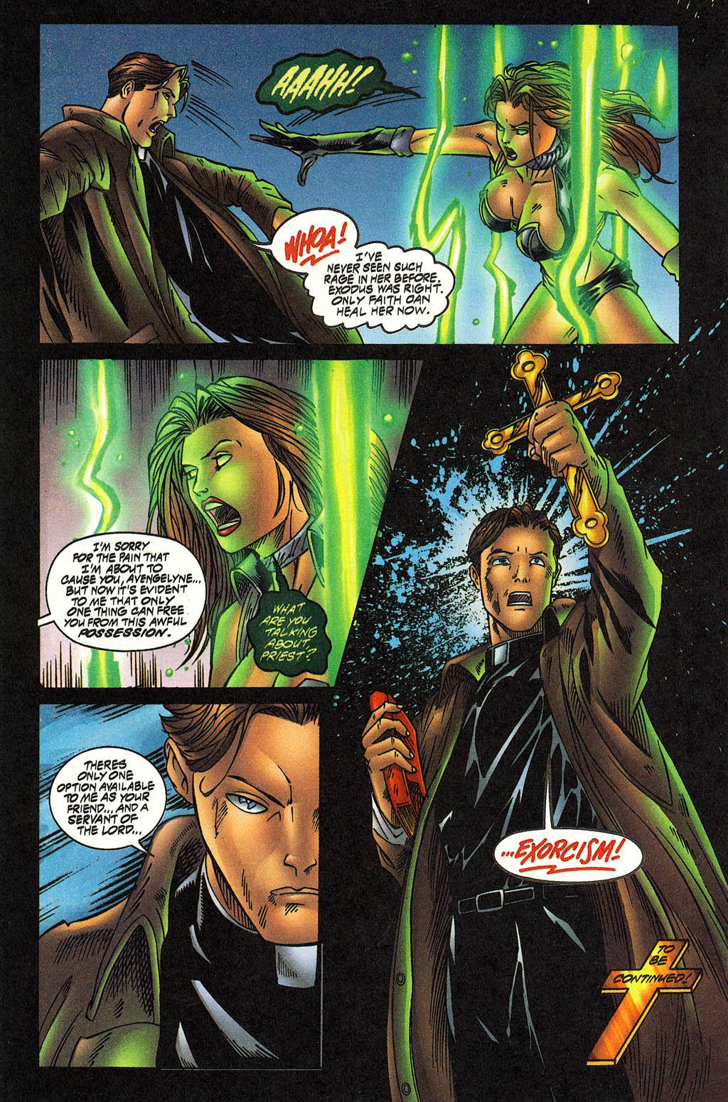 Read online Avengelyne (1996) comic -  Issue #12 - 20