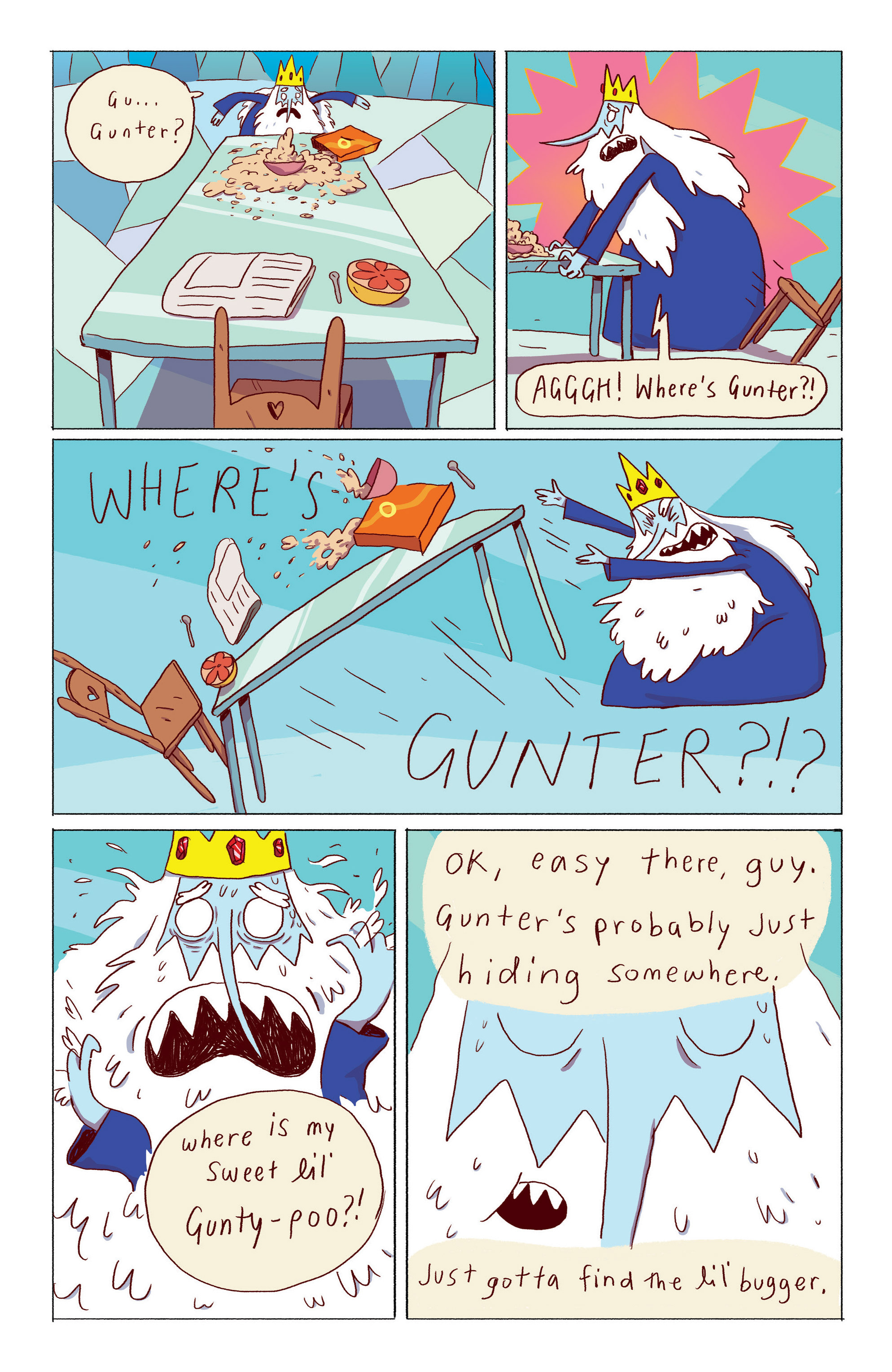 Read online Adventure Time: Ice King comic -  Issue #1 - 6