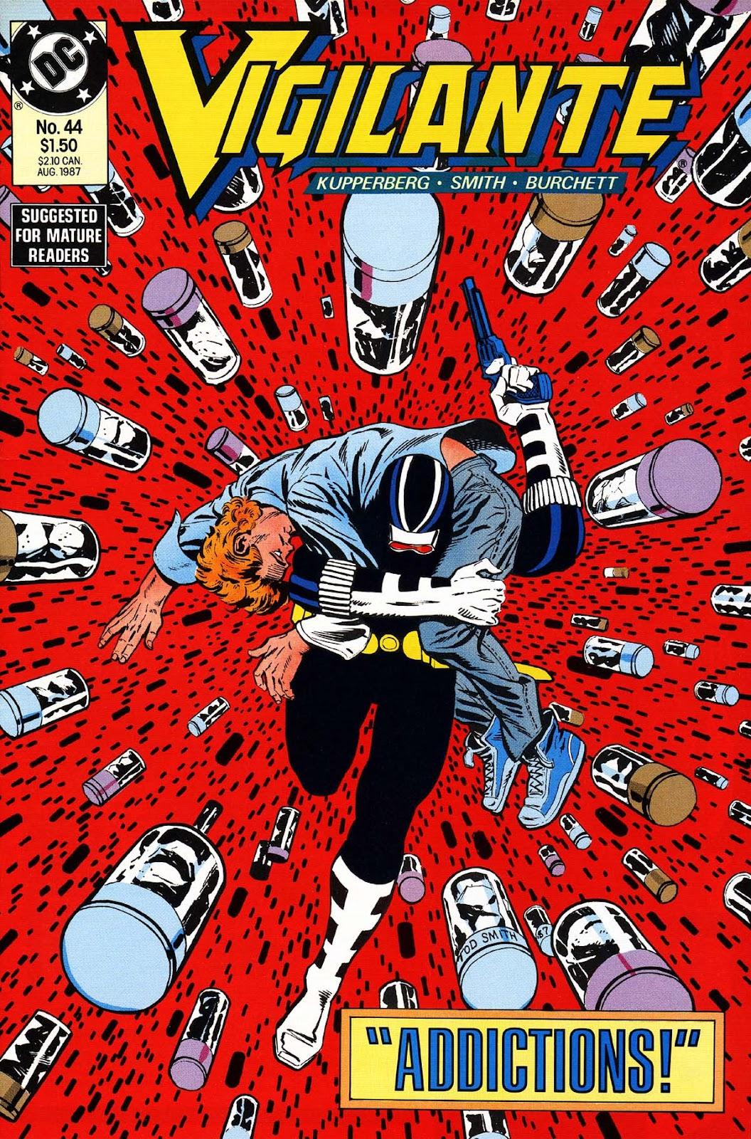 Vigilante (1983) issue 44 - Page 1