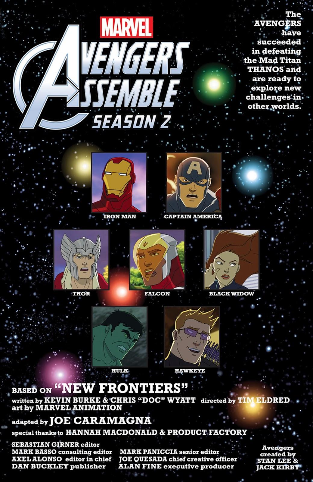 Read online Marvel Universe Avengers Assemble Season 2 comic -  Issue #15 - 3