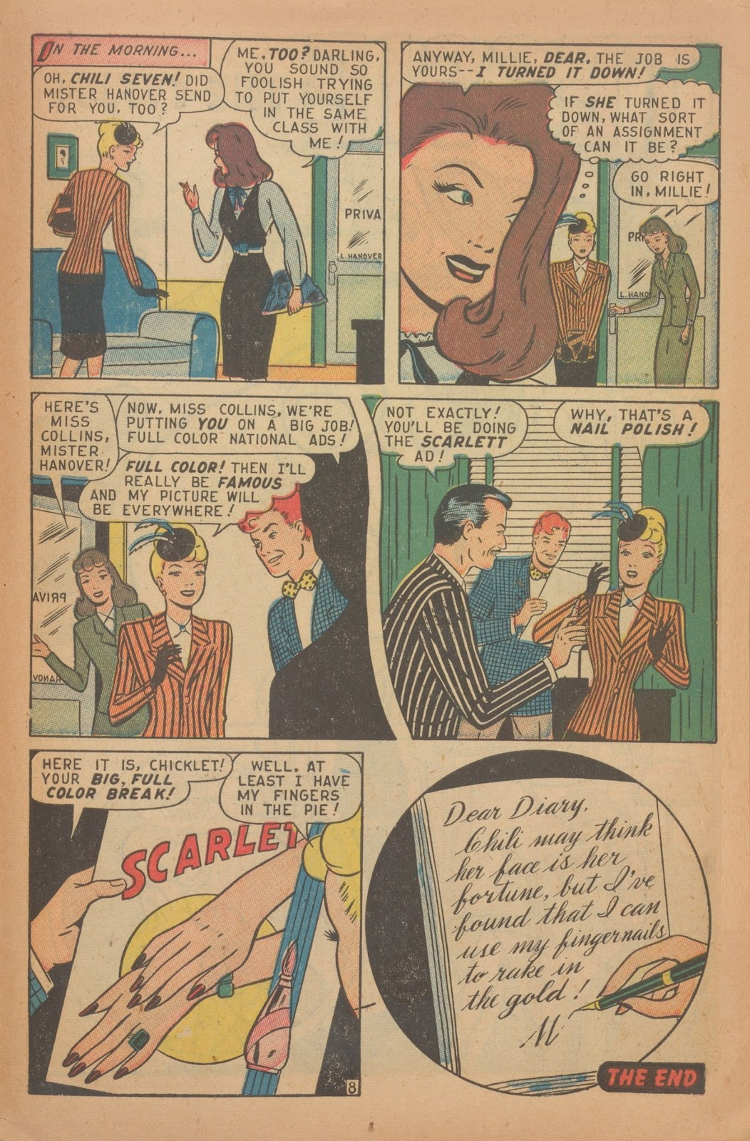 Read online Nellie The Nurse (1945) comic -  Issue #9 - 41