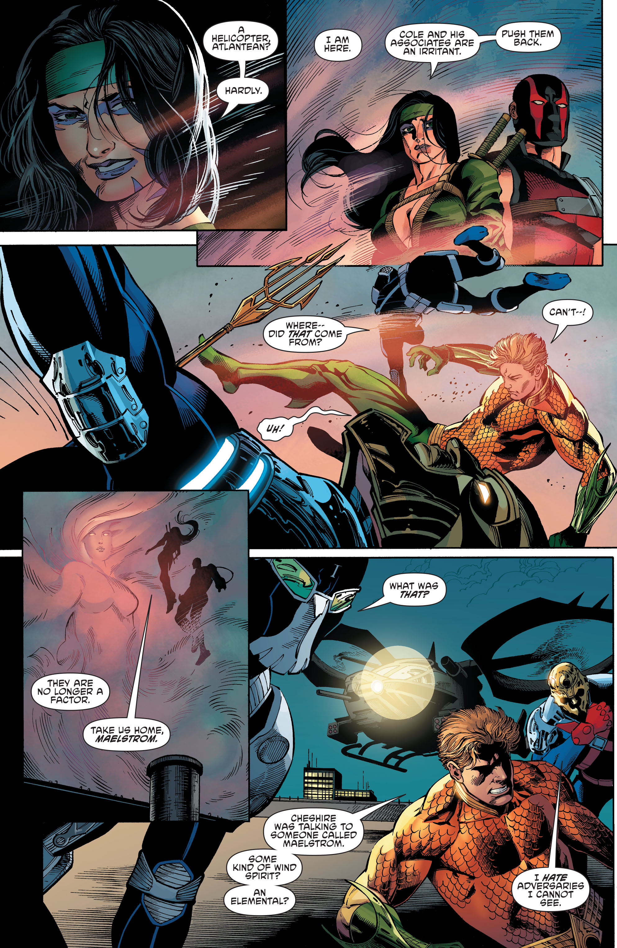 Read online Aquaman and the Others comic -  Issue #7 - 11