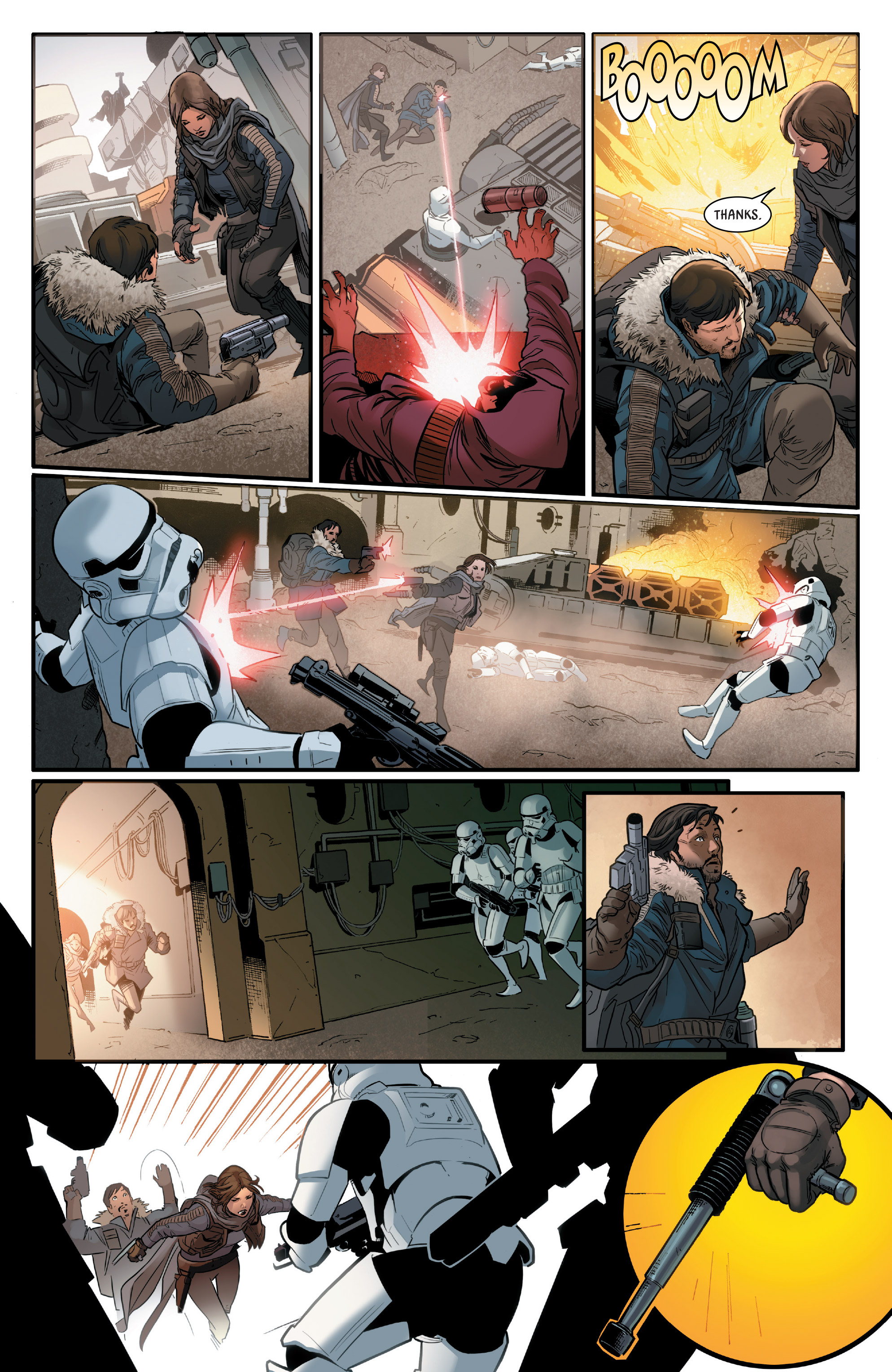 Read online Star Wars: Rogue One Adaptation comic -  Issue #2 - 9